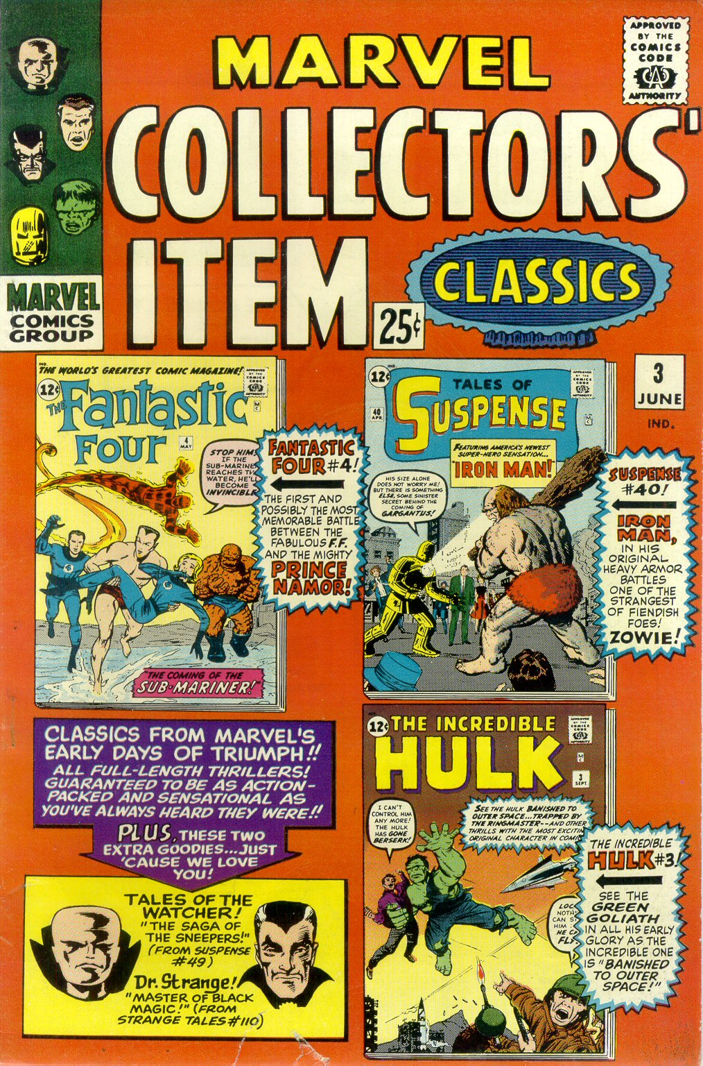 Marvel Collectors Item Classics 3 Page 1