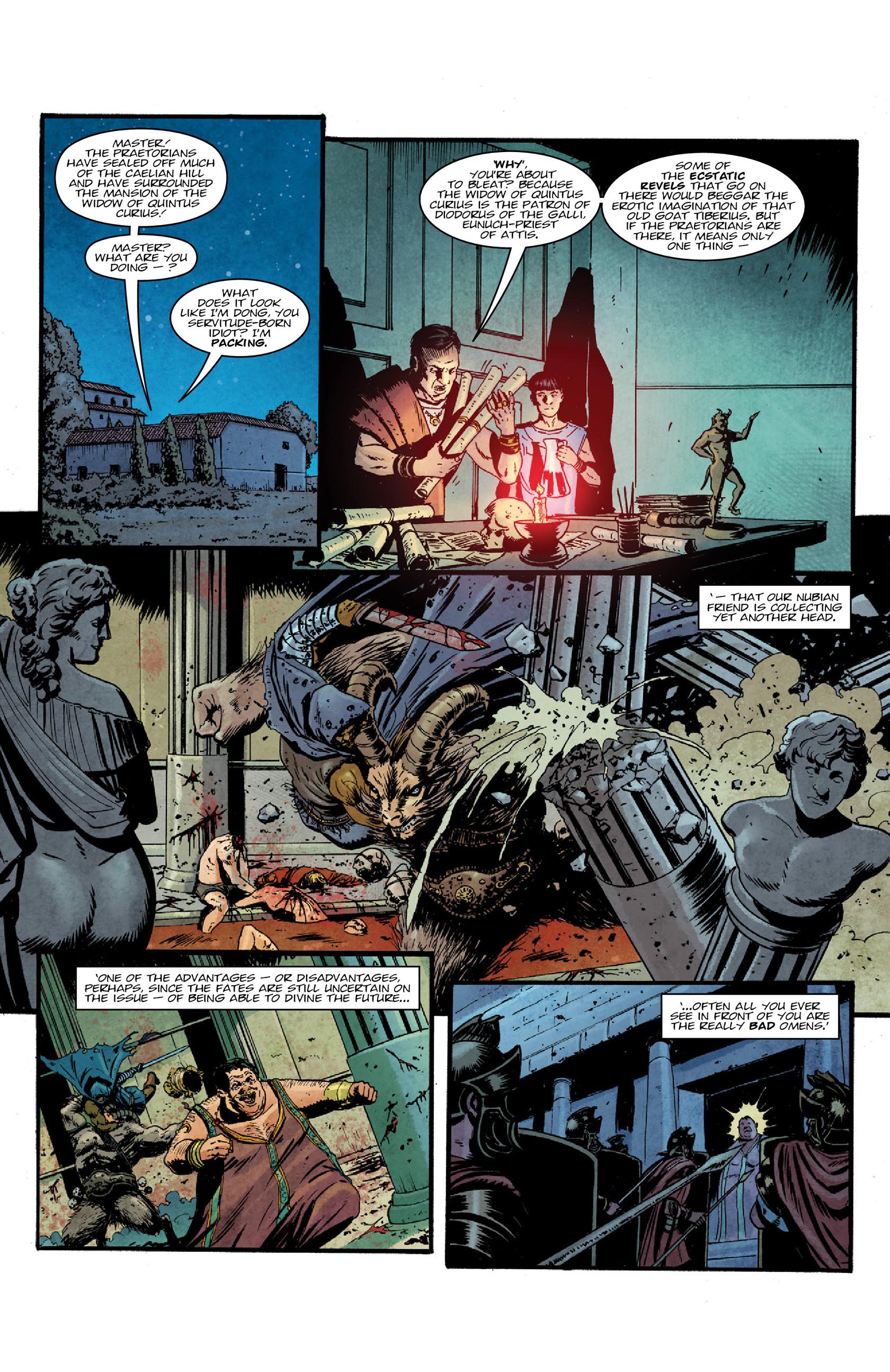 Read online Aquila comic -  Issue #3 - 32