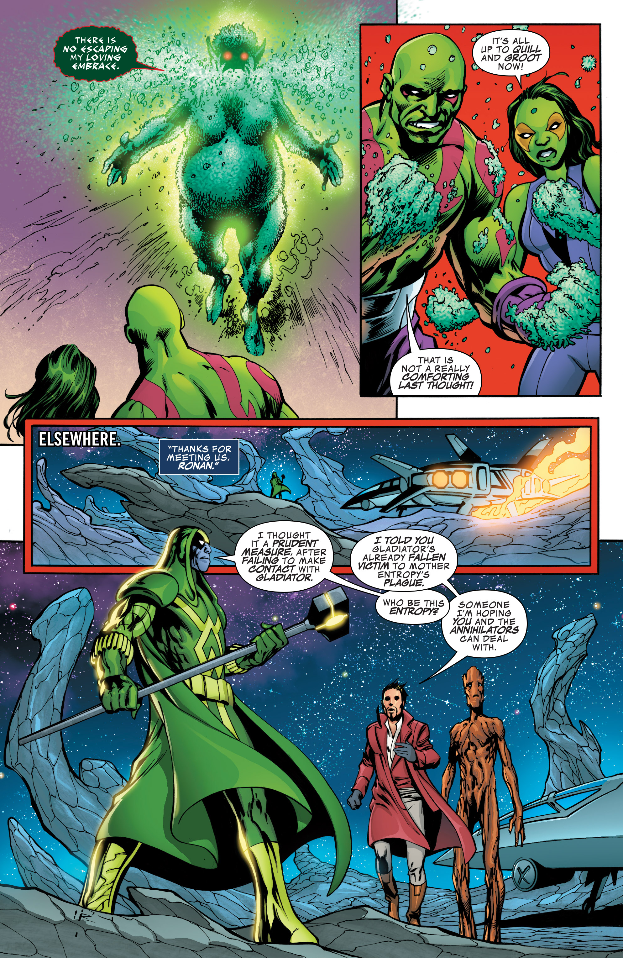 Read online Guardians of the Galaxy: Mother Entropy comic -  Issue #4 - 15