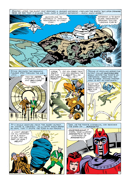 Read online Uncanny X-Men (1963) comic -  Issue #5 - 8