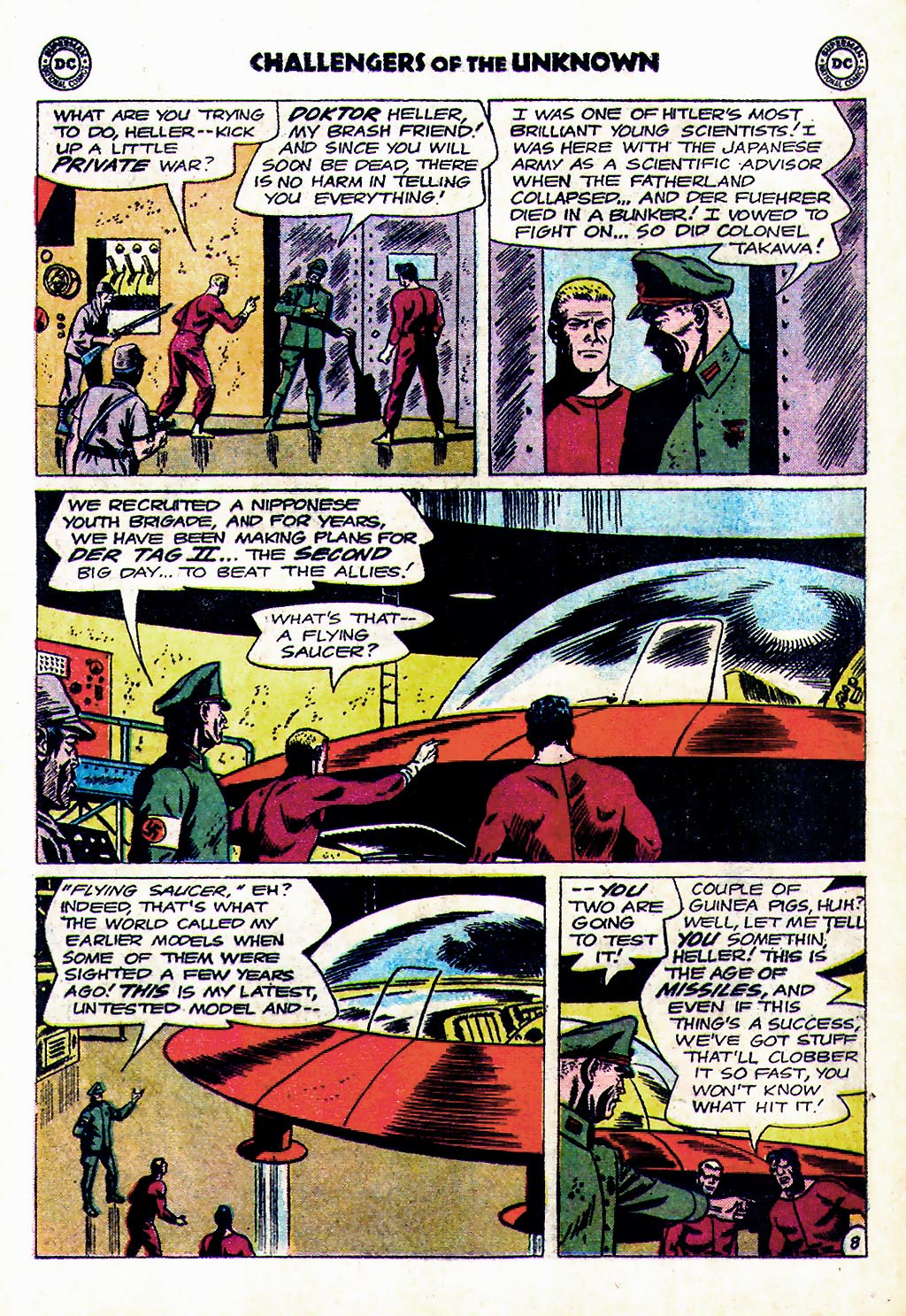 Challengers of the Unknown (1958) issue 38 - Page 28