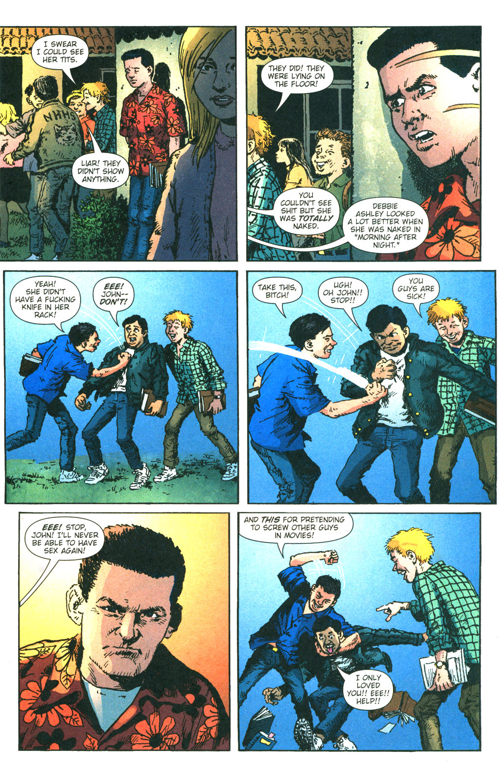 Read online Caper comic -  Issue #7 - 14