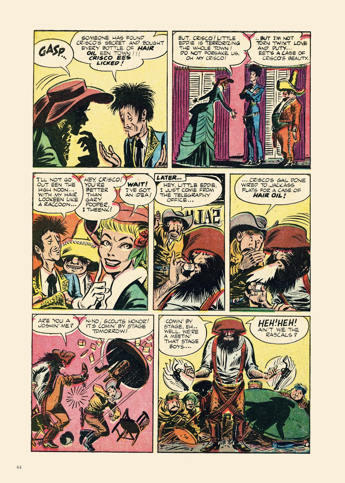 Read online Sincerest Form of Parody: The Best 1950s MAD-Inspired Satirical Comics comic -  Issue # TPB (Part 1) - 45