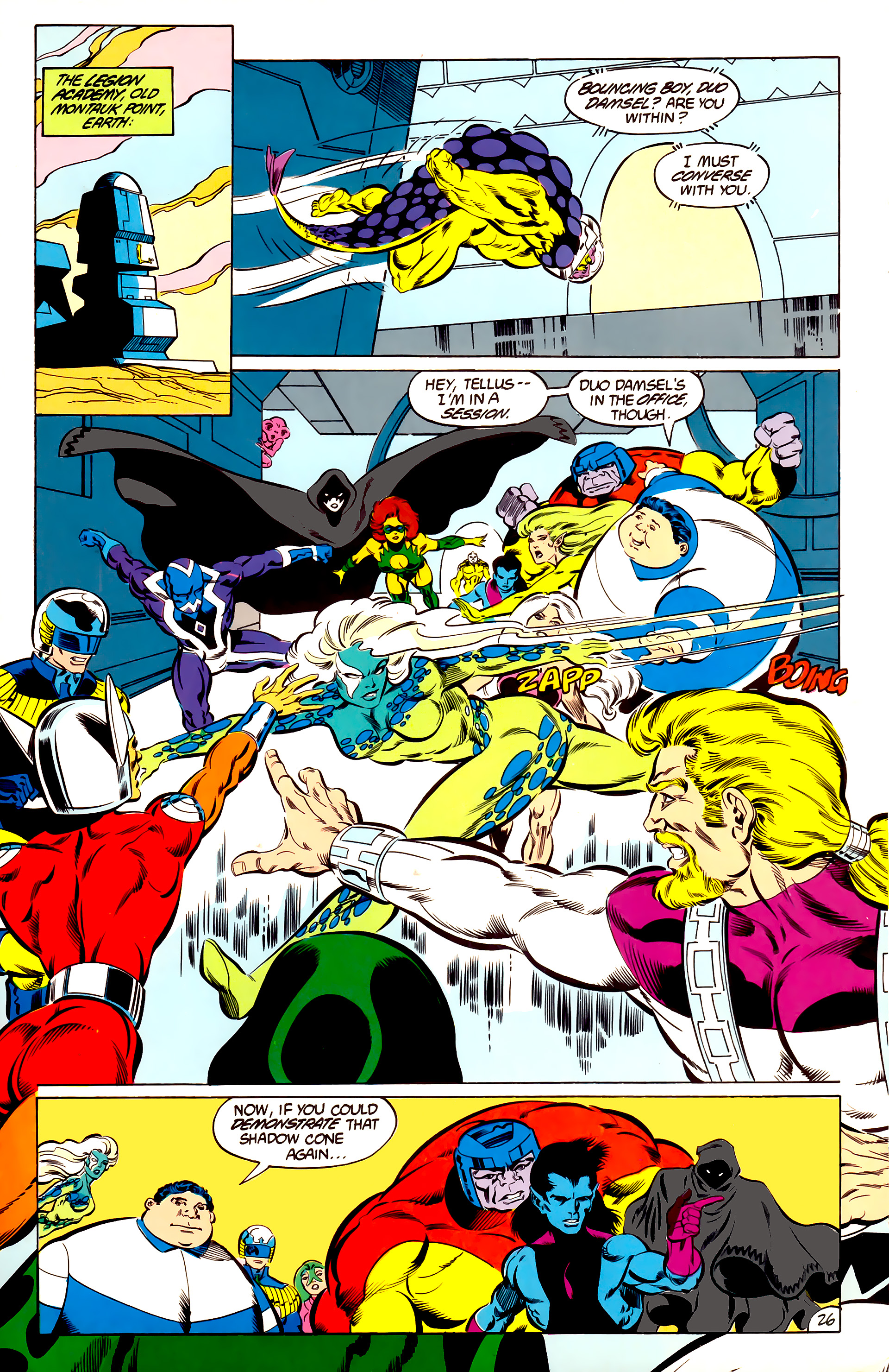 Legion of Super-Heroes (1984) 47 Page 26
