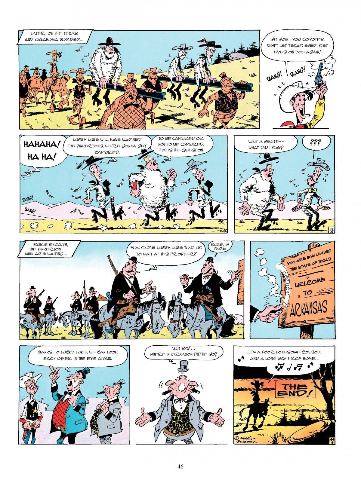 Read online A Lucky Luke Adventure comic -  Issue #4 - 48