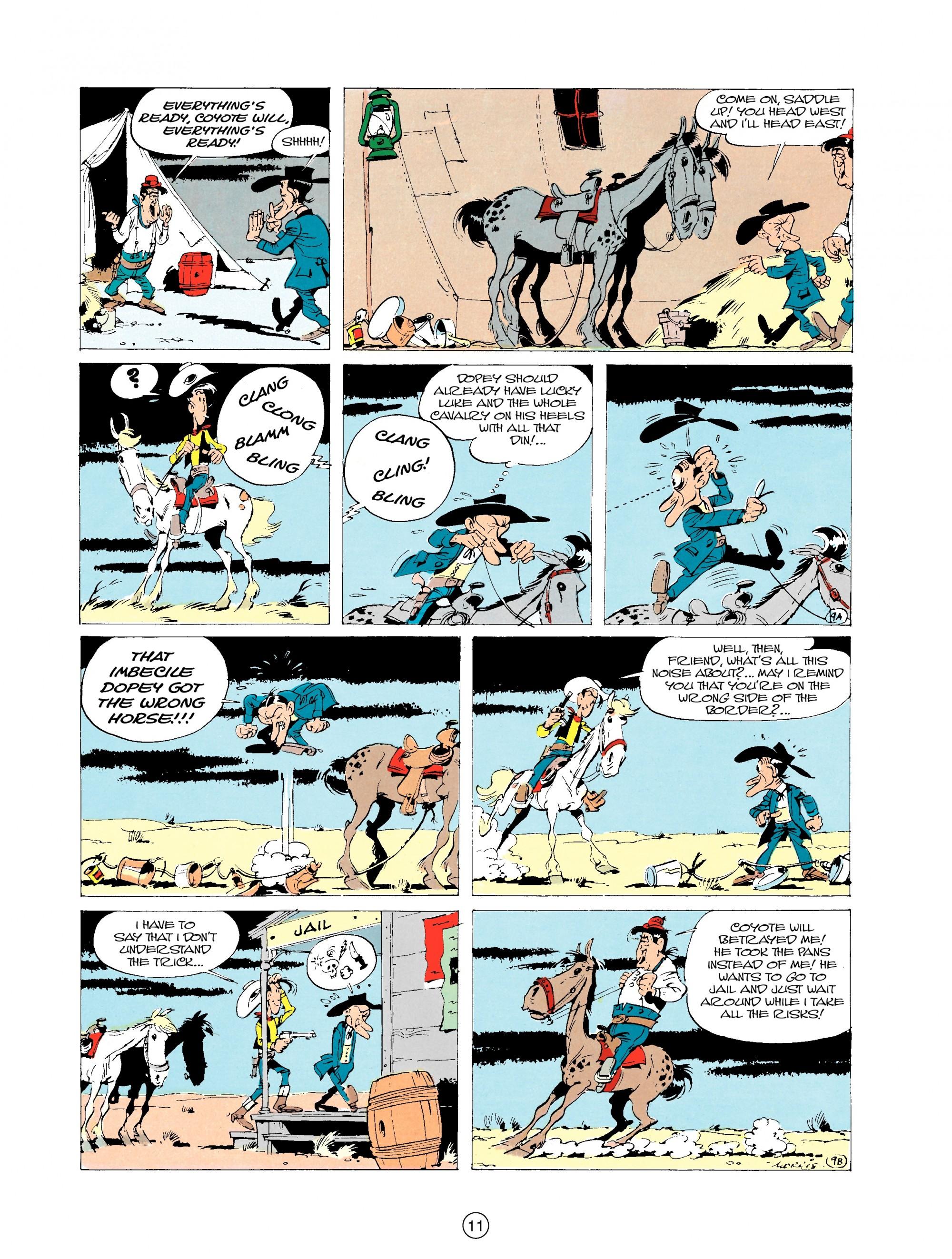 Read online A Lucky Luke Adventure comic -  Issue #20 - 11