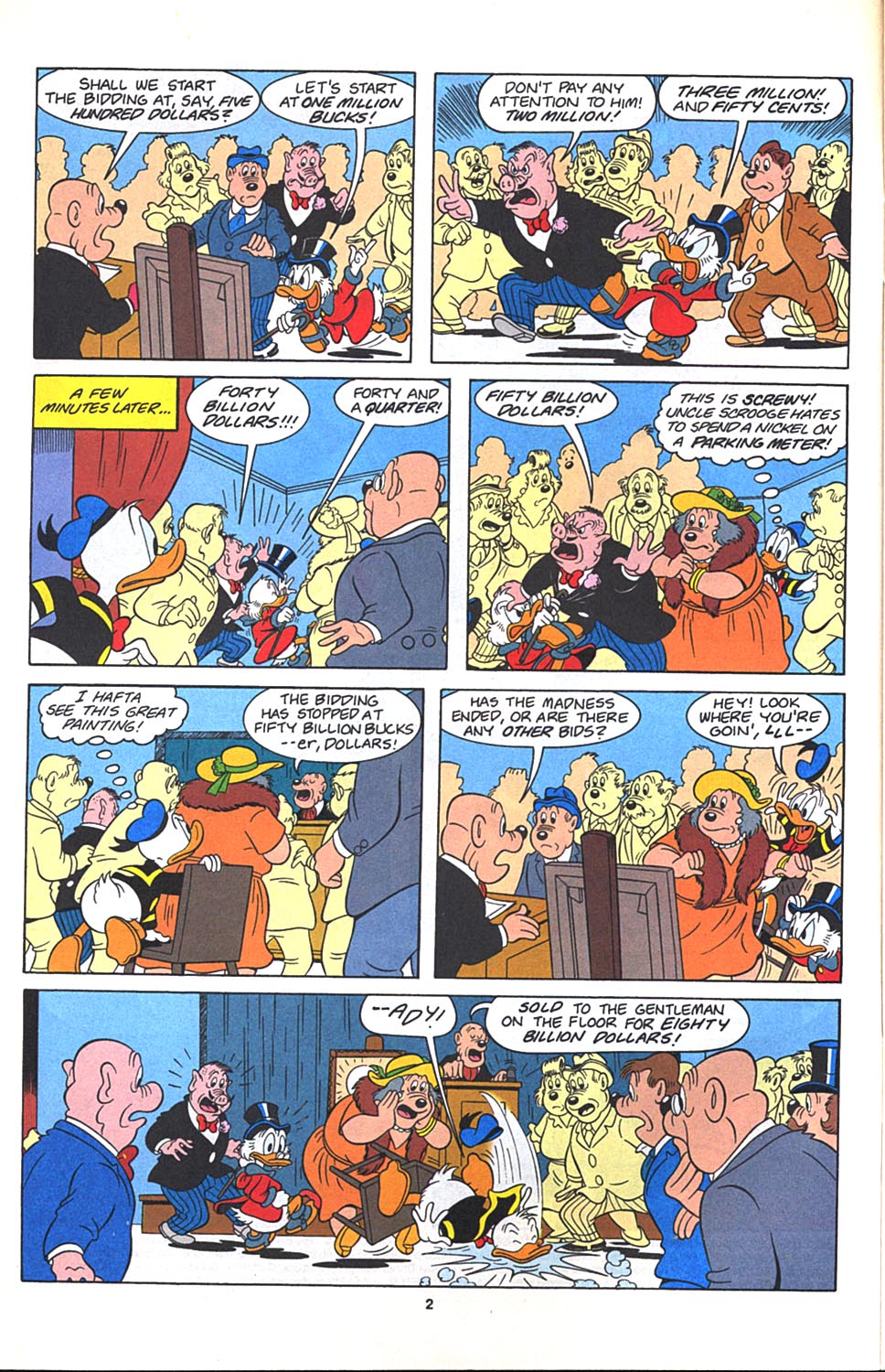 Read online Uncle Scrooge (1953) comic -  Issue #271 - 3