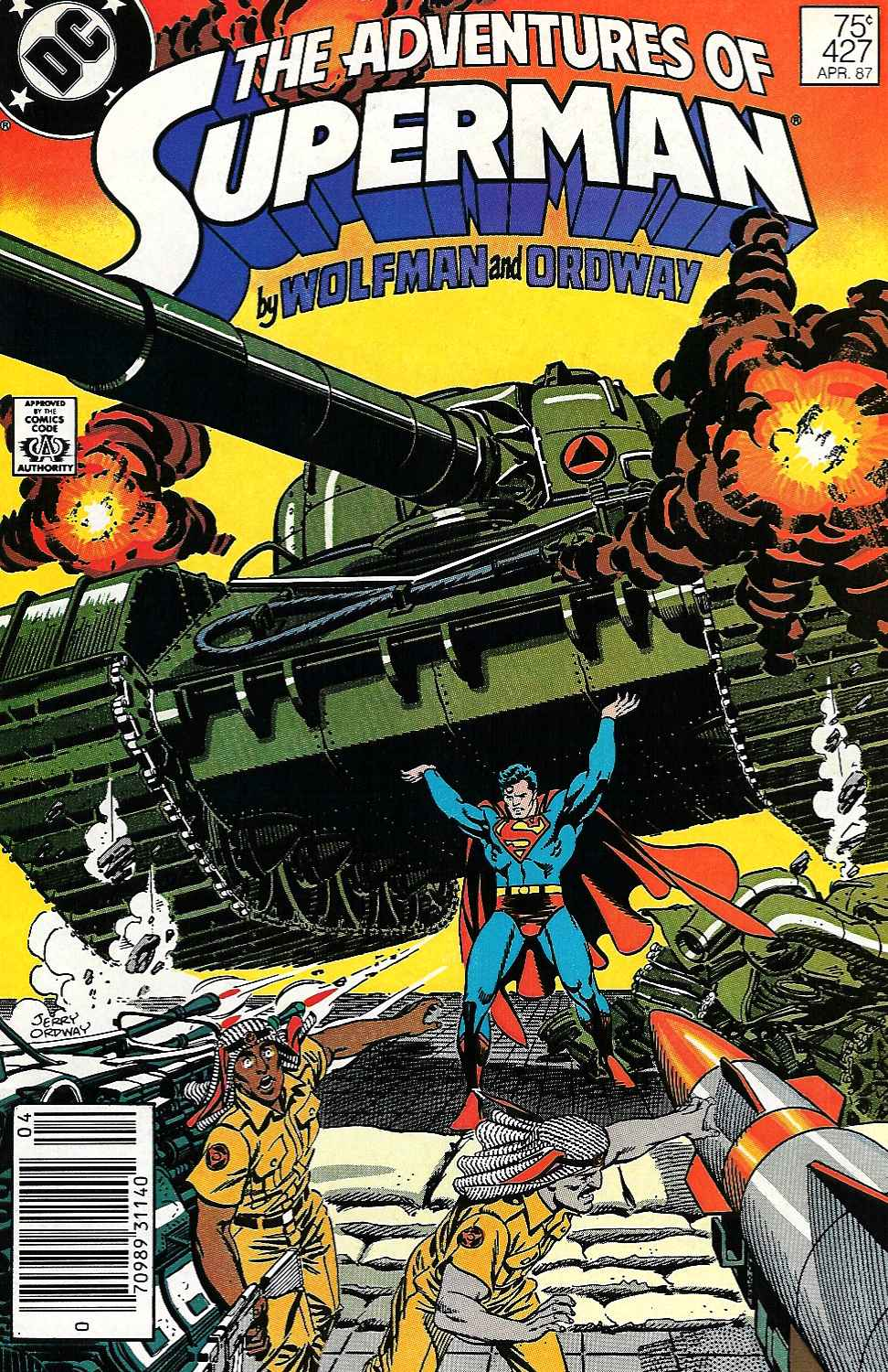 Read online Adventures of Superman (1987) comic -  Issue #427 - 1