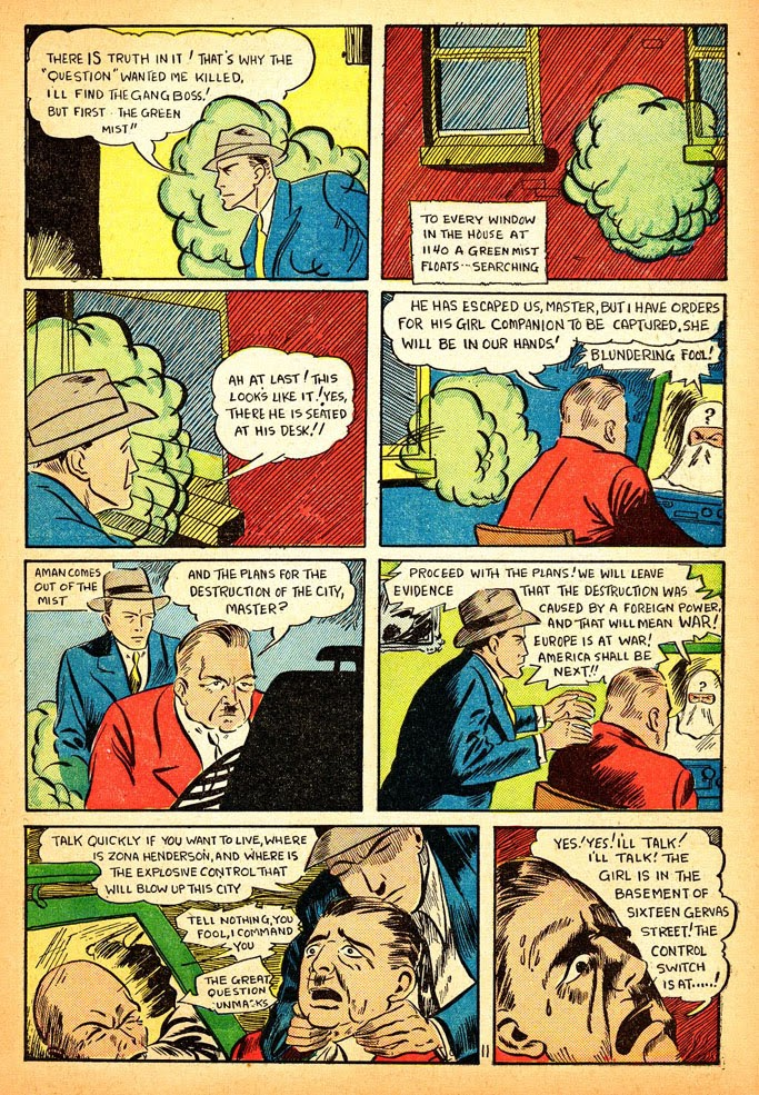 Read online Amazing Man Comics comic -  Issue #12 - 13