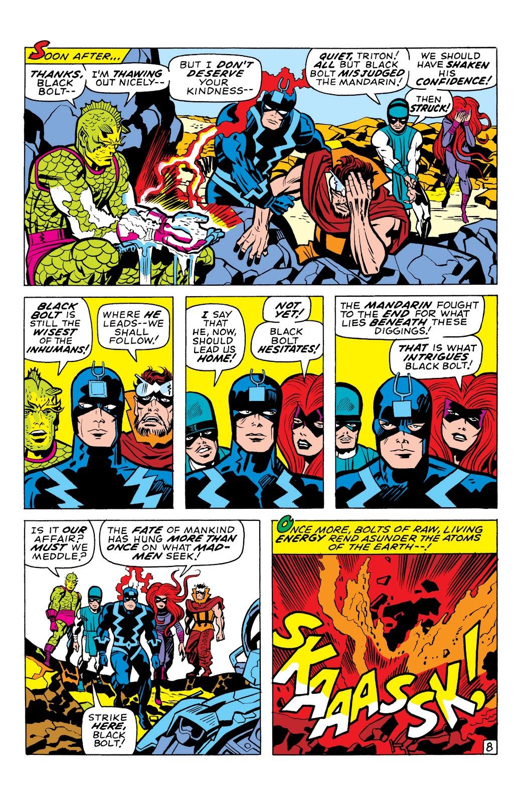 Read online Marvel Masterworks: The Inhumans comic -  Issue # TPB 1 (Part 1) - 99