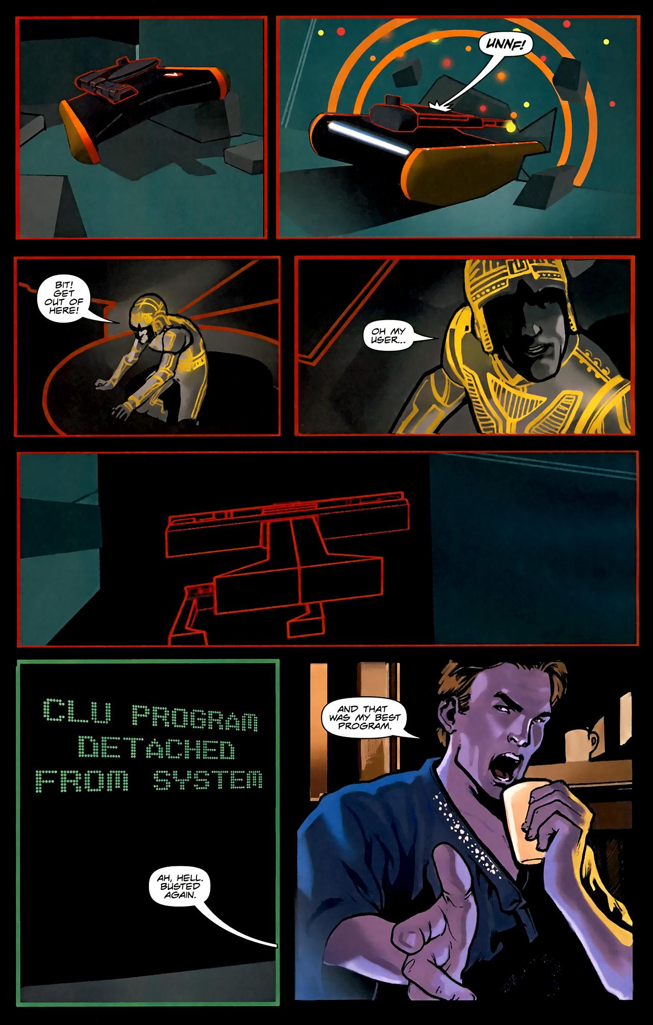 Read online TRON: Original Movie Adaptation comic -  Issue #1 - 13
