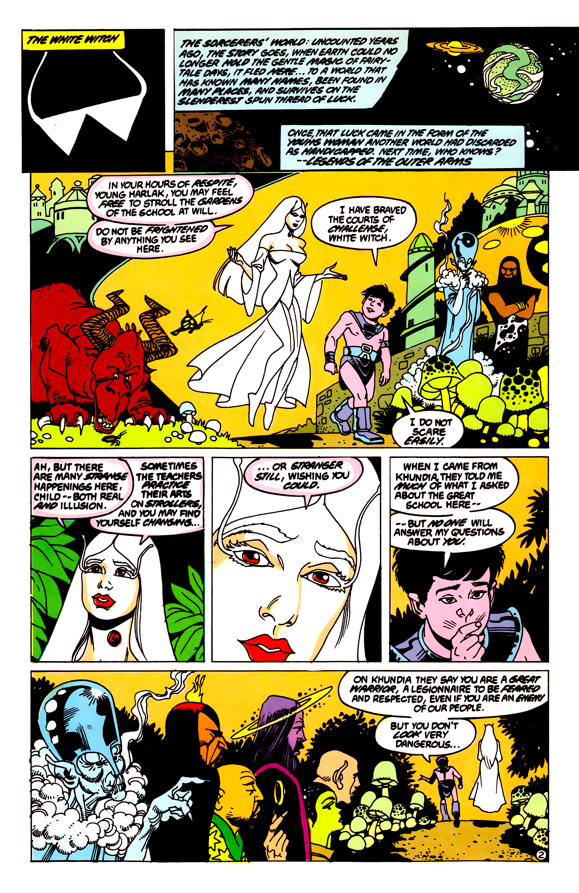 Legion of Super-Heroes (1984) 55 Page 2