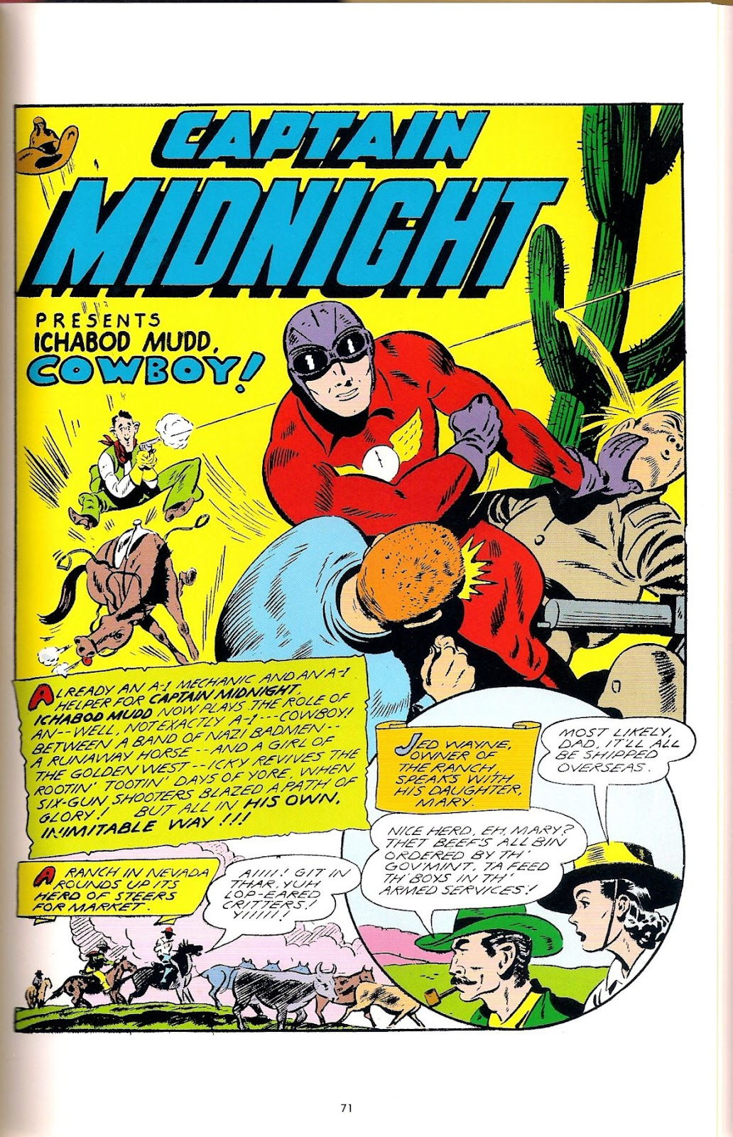 Captain Midnight (1942) issue 6 - Page 4