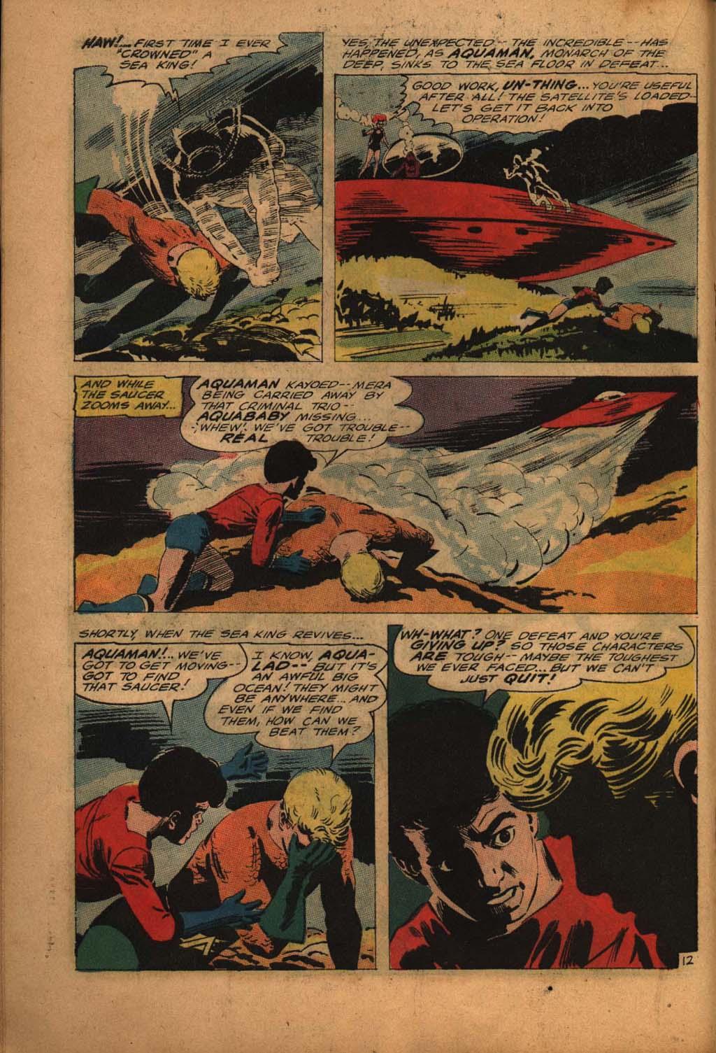 Read online Aquaman (1962) comic -  Issue #24 - 18