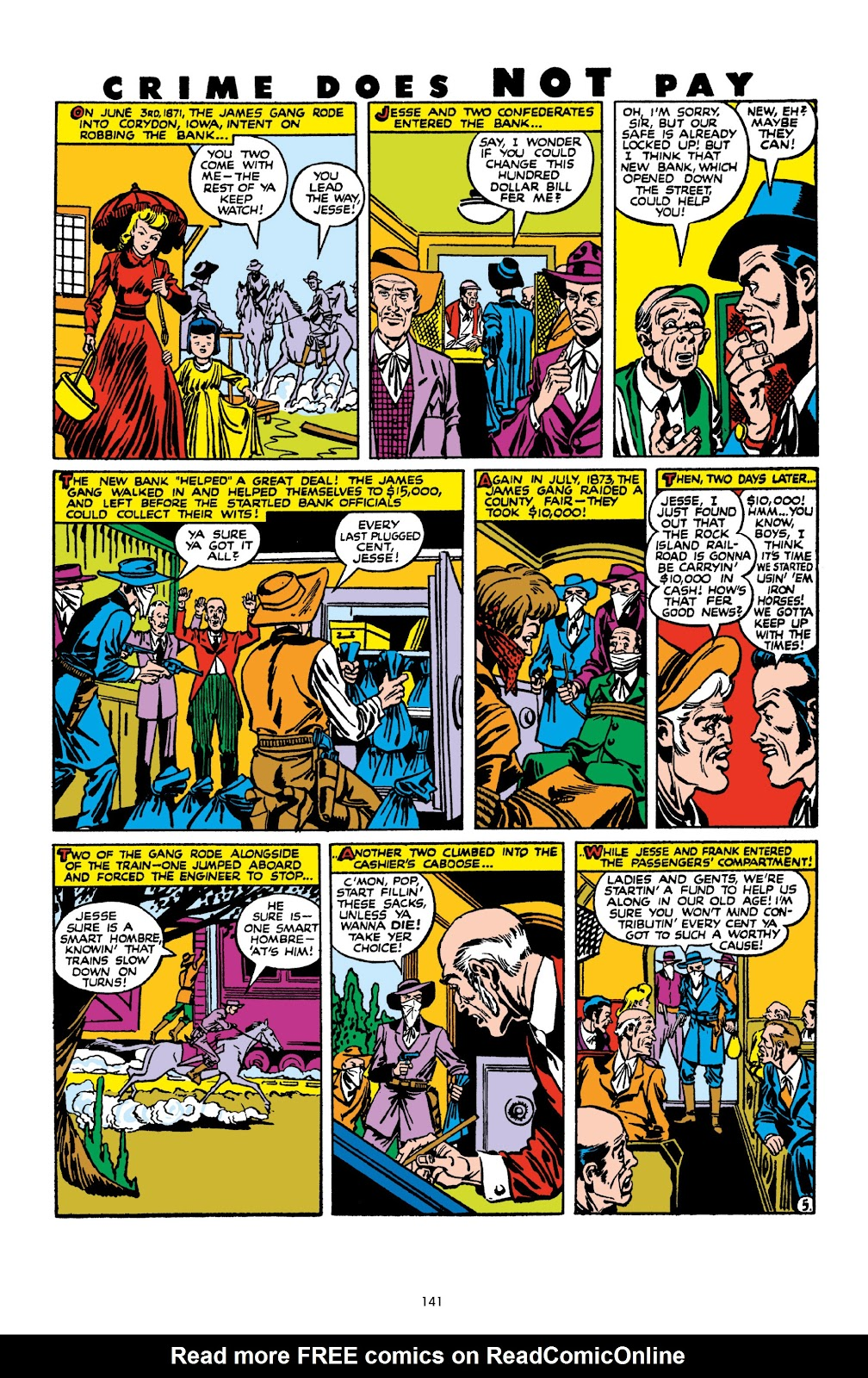 Read online Crime Does Not Pay Archives comic -  Issue # TPB 10 (Part 2) - 42