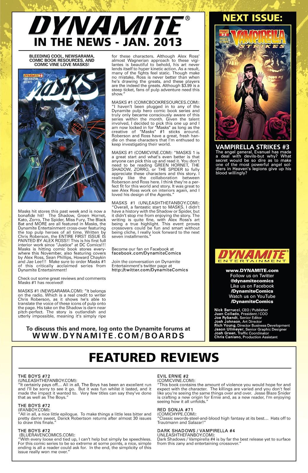 Read online Vampirella Strikes comic -  Issue #2 - 25