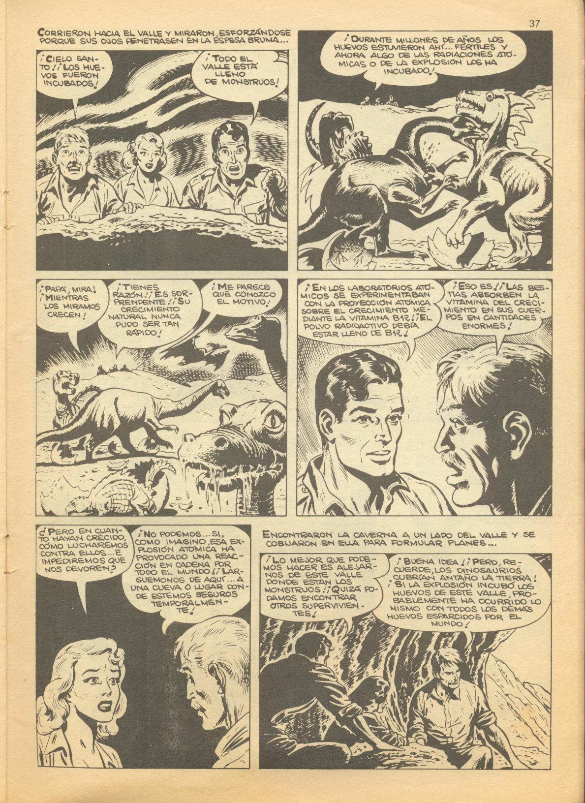 Read online Adventures into Weird Worlds comic -  Issue #1 - 5