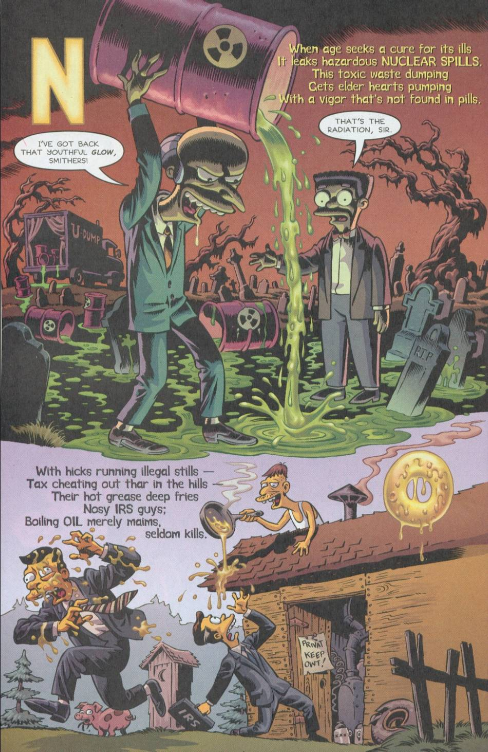 Read online Treehouse of Horror comic -  Issue #8 - 39