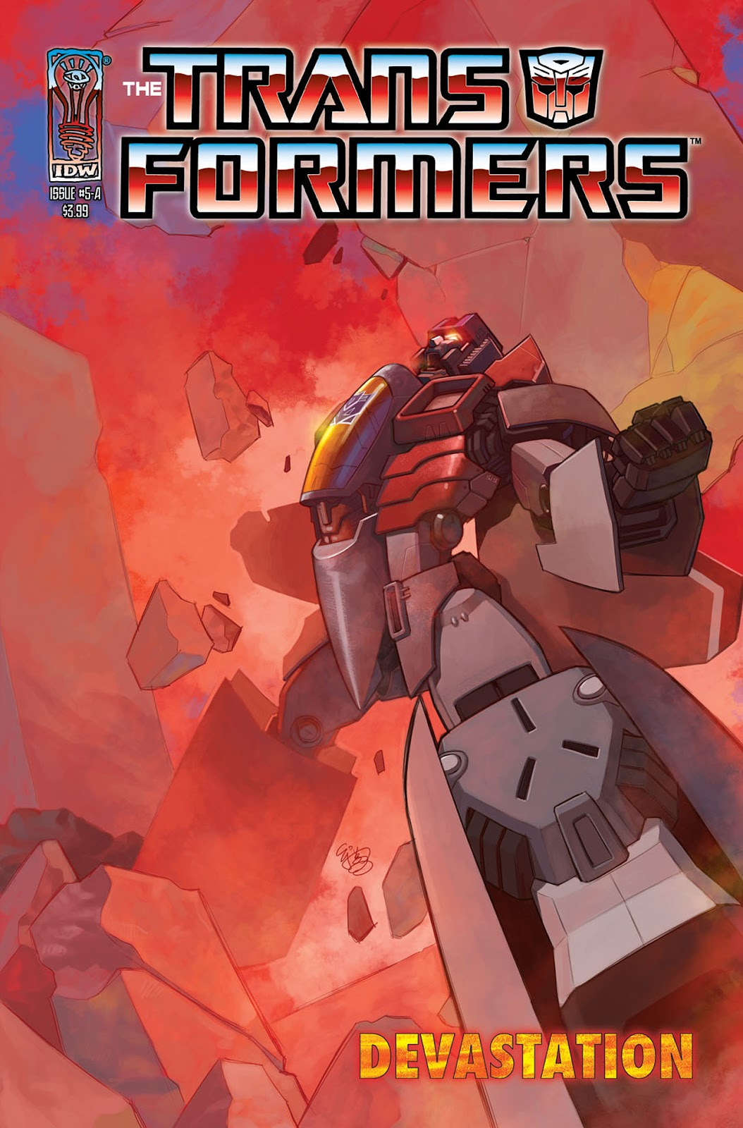 The Transformers: Devastation issue 5 - Page 1