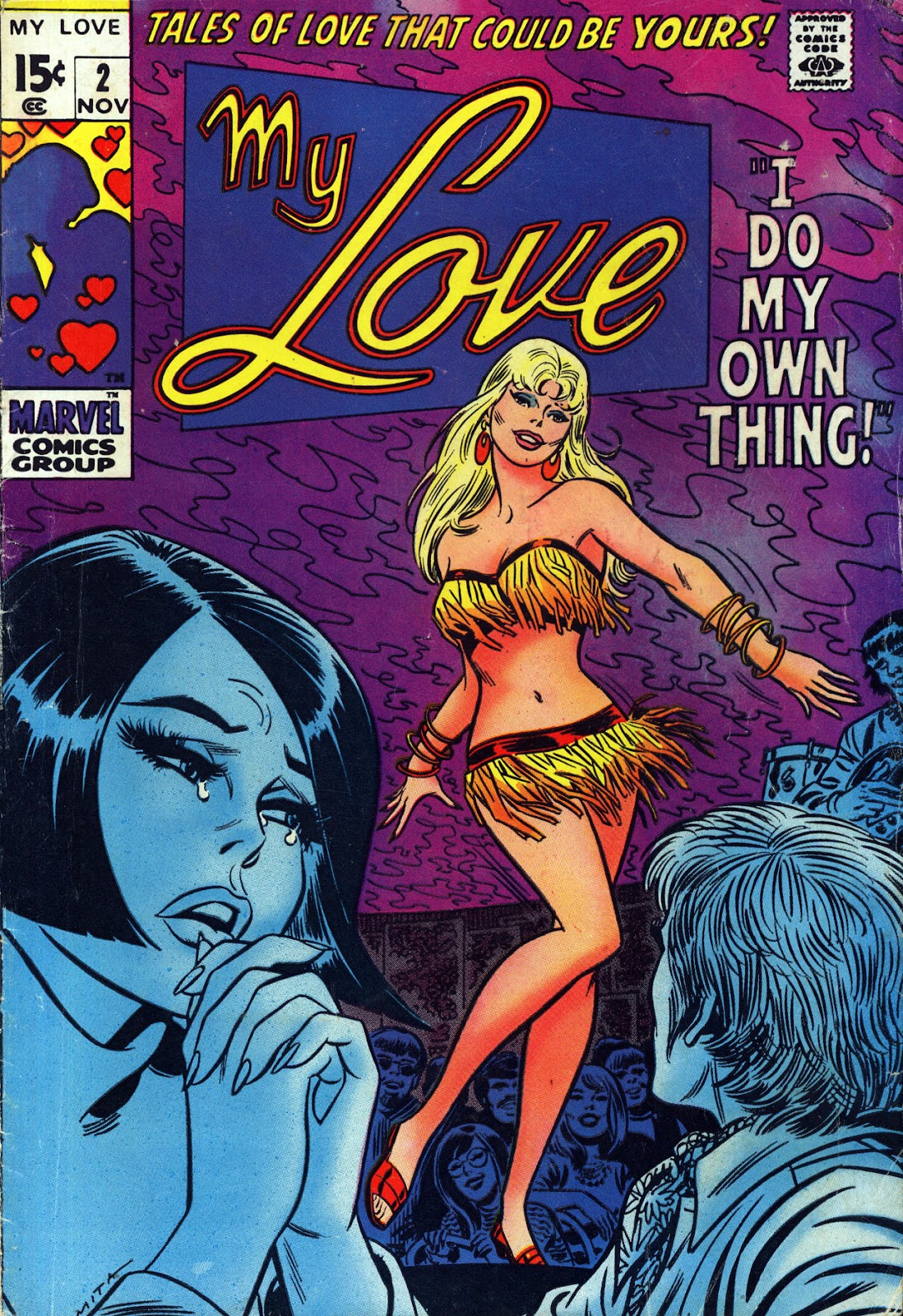 My Love (1969) issue 2 - Page 1