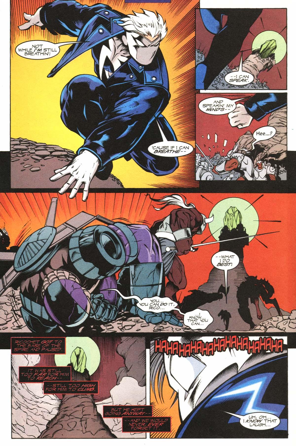 Read online Slingers comic -  Issue #12 - 12