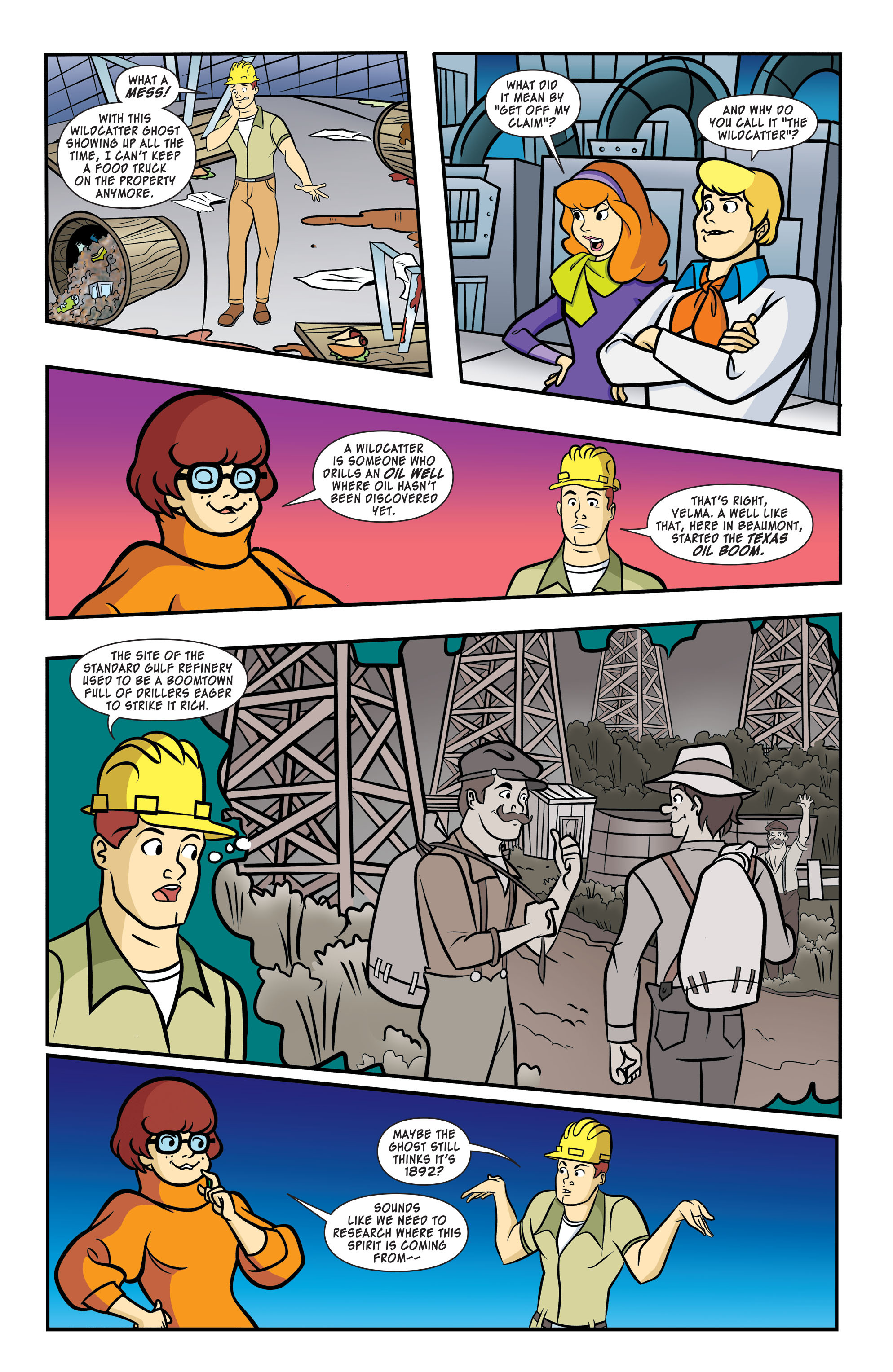 Read online Scooby-Doo: Where Are You? comic -  Issue #58 - 4
