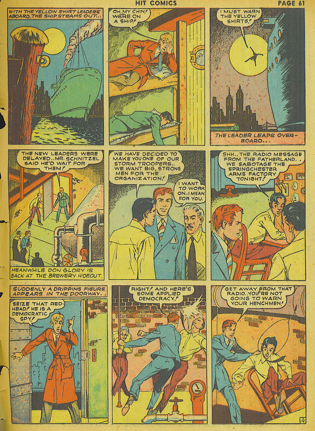 Read online Hit Comics comic -  Issue #13 - 63