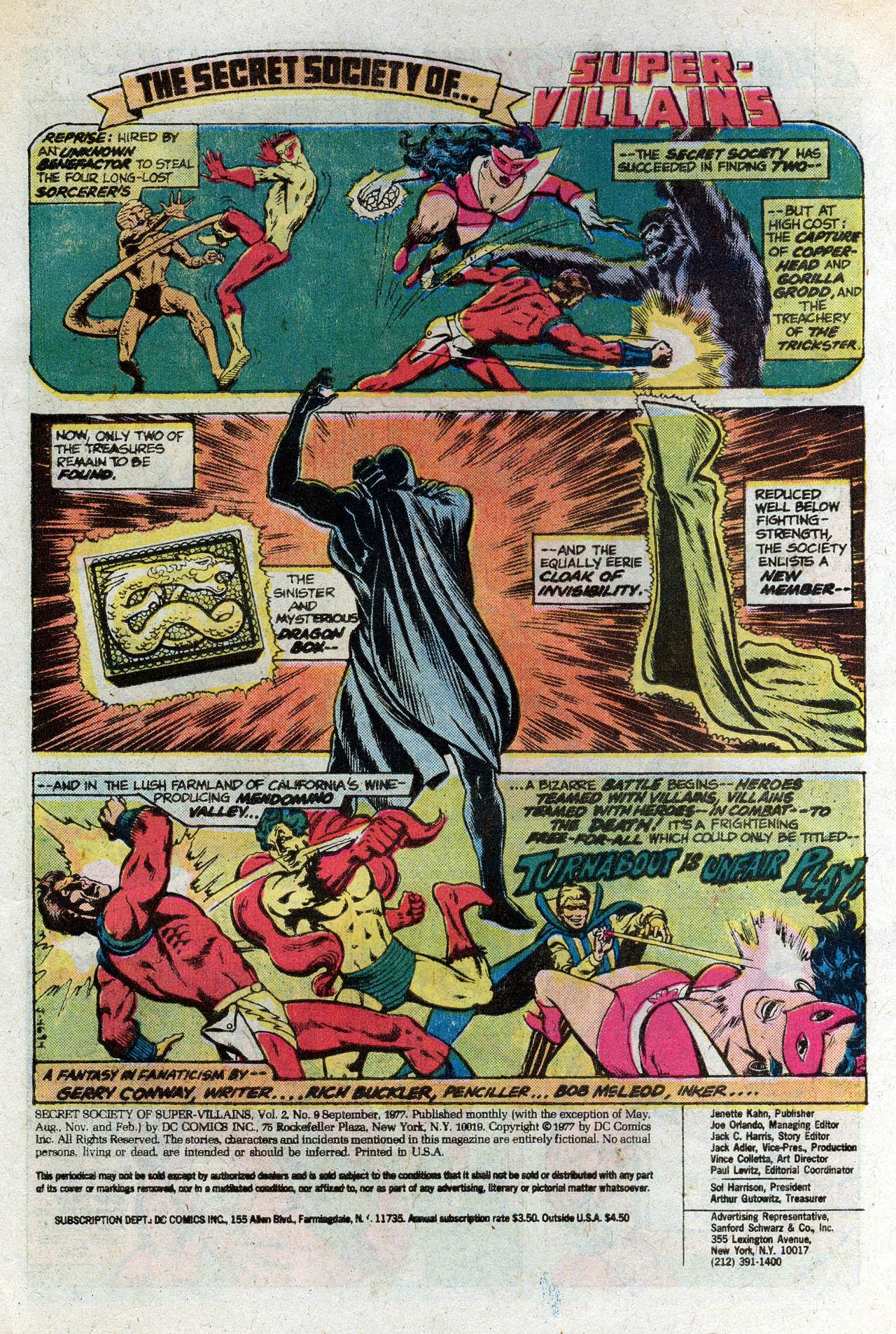 Read online Secret Society of Super-Villains comic -  Issue #9 - 3