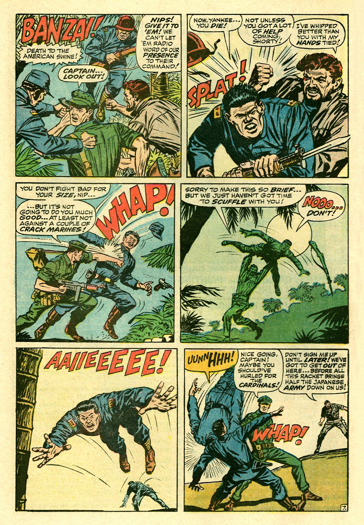 Captain Savage and his Leatherneck Raiders issue 8 - Page 12