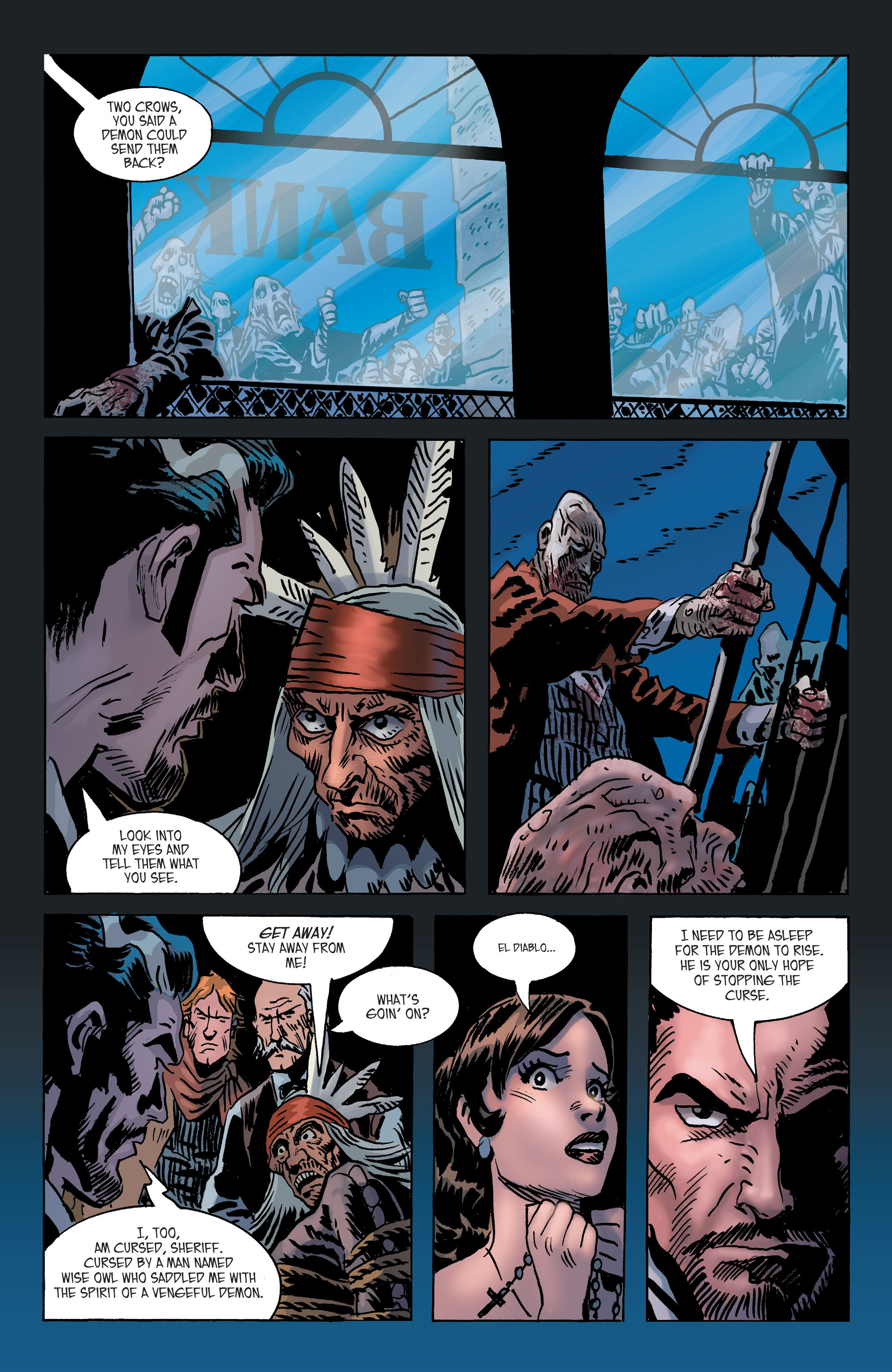 Read online All-Star Western (2011) comic -  Issue #2 - 26
