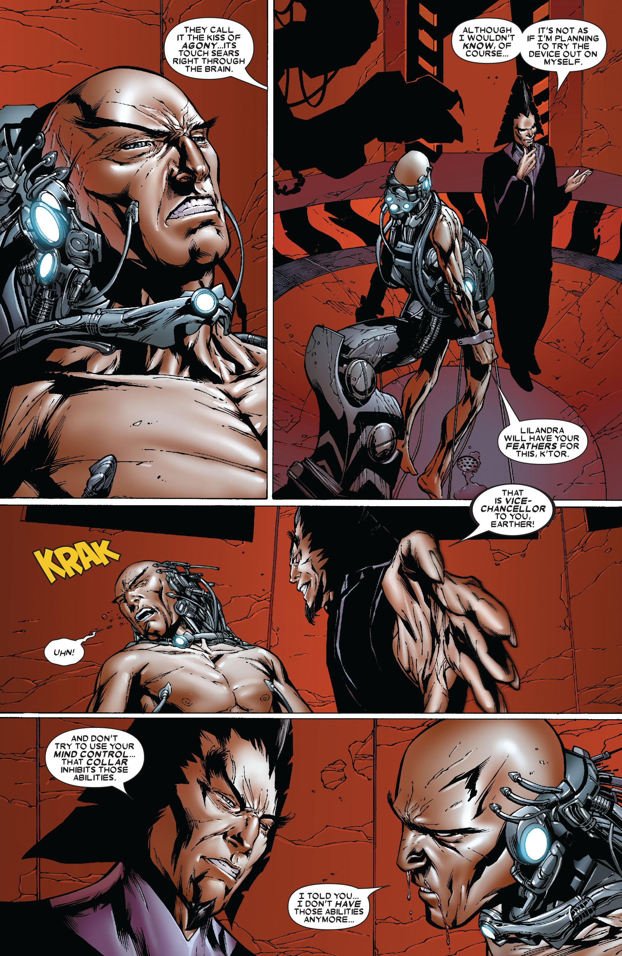Read online Uncanny X-Men (1963) comic -  Issue #481 - 20