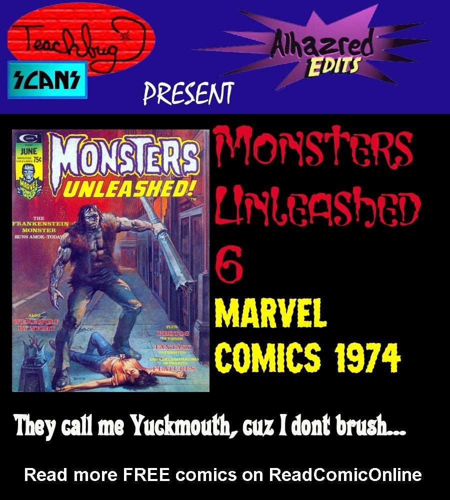 Monsters Unleashed (1973) 6 Page 1