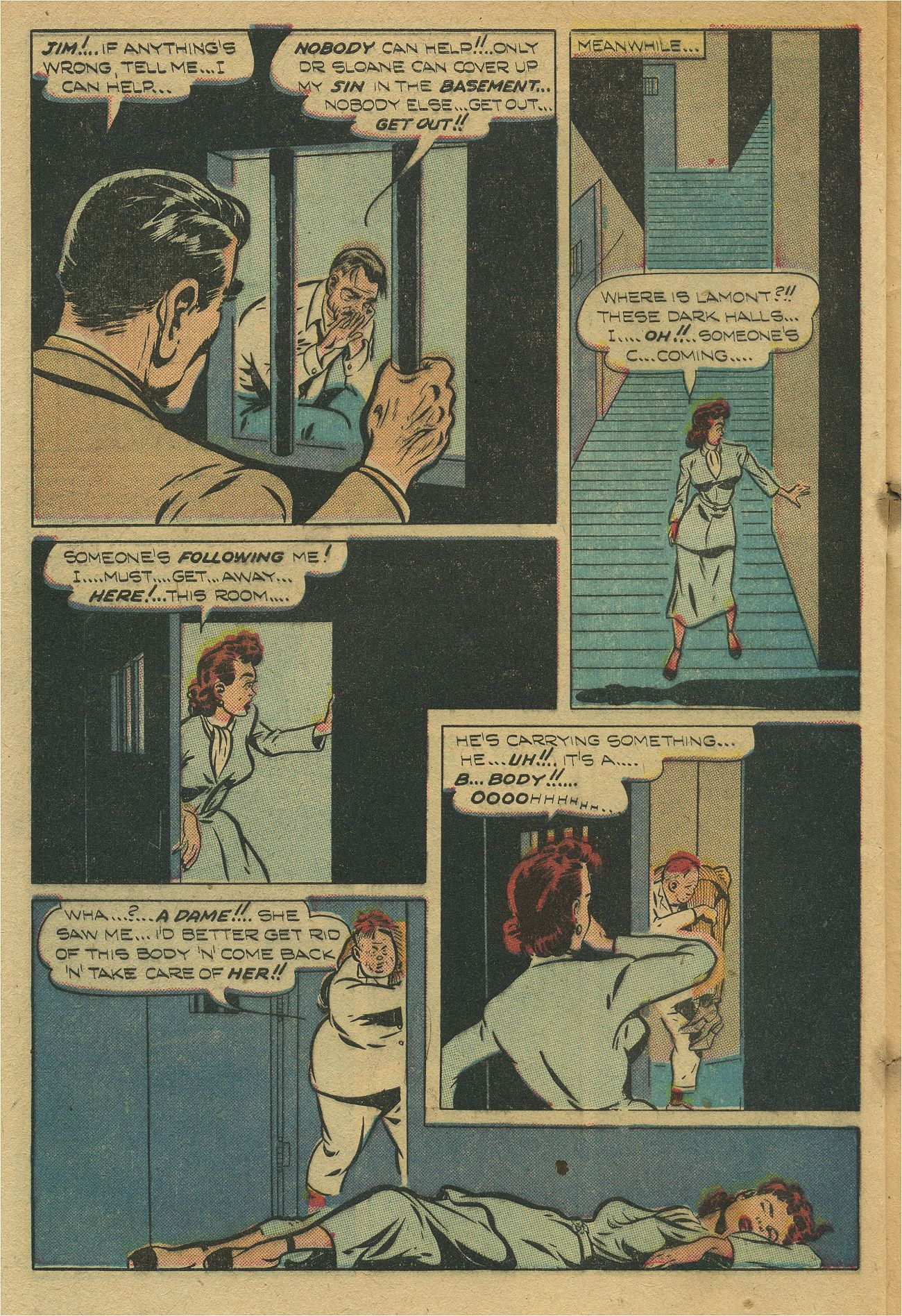 Read online Shadow Comics comic -  Issue #93 - 45