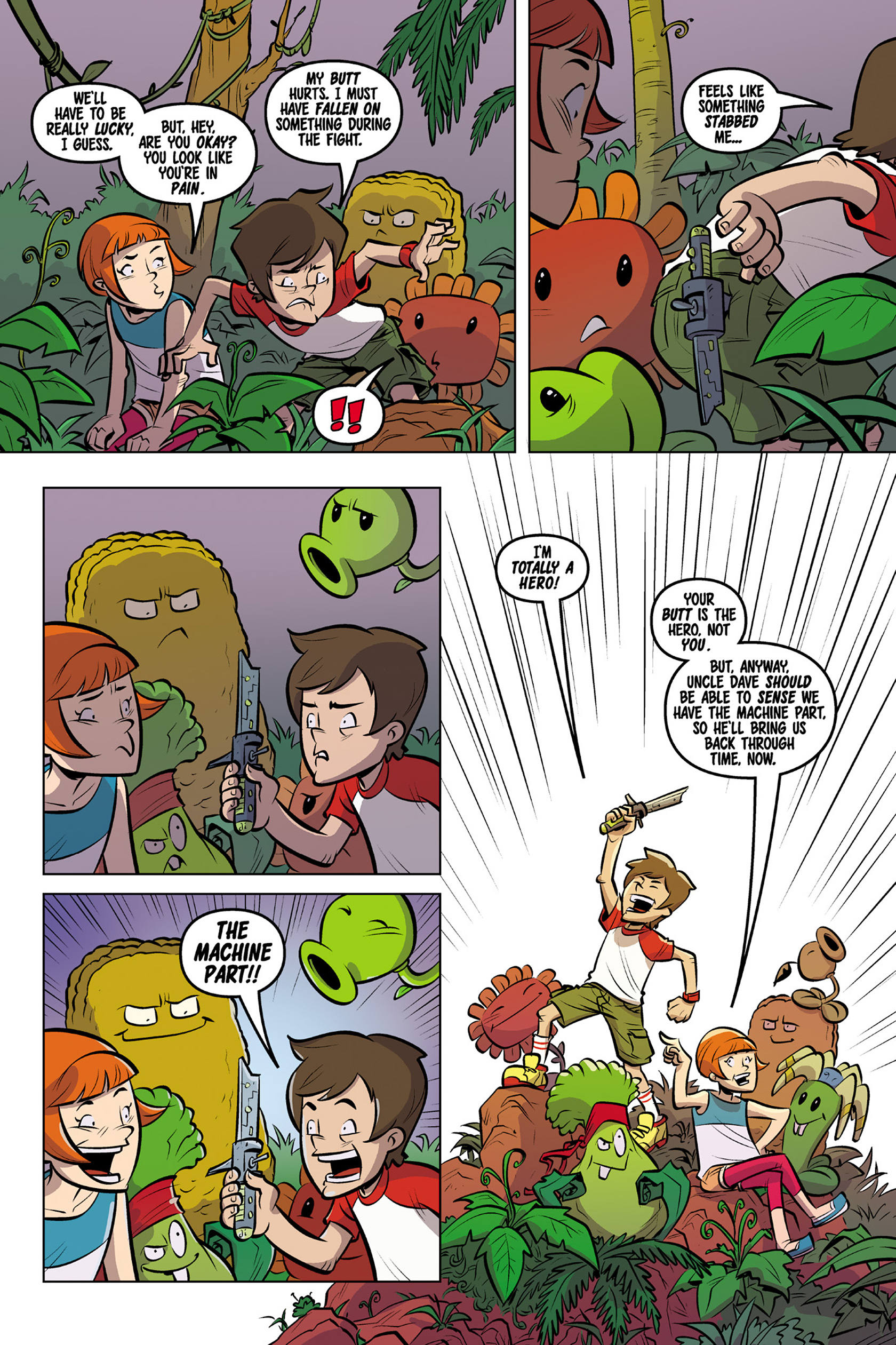 Plants Vs Zombies - Read Free Comics Online Plants Vs -1712