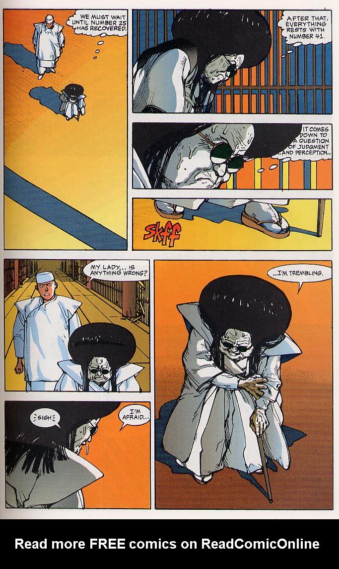 Read online Akira comic -  Issue #24 - 37
