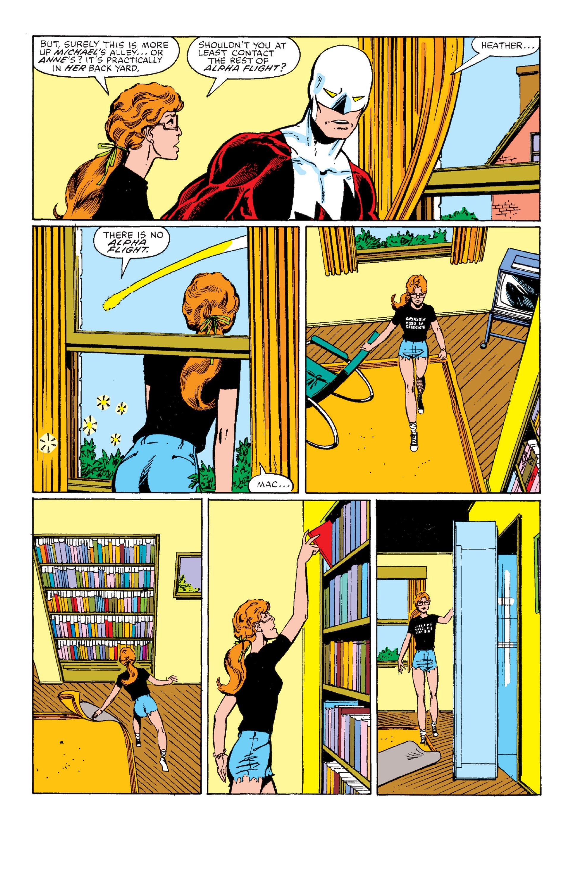 Read online Alpha Flight (1983) comic -  Issue #1 - 15