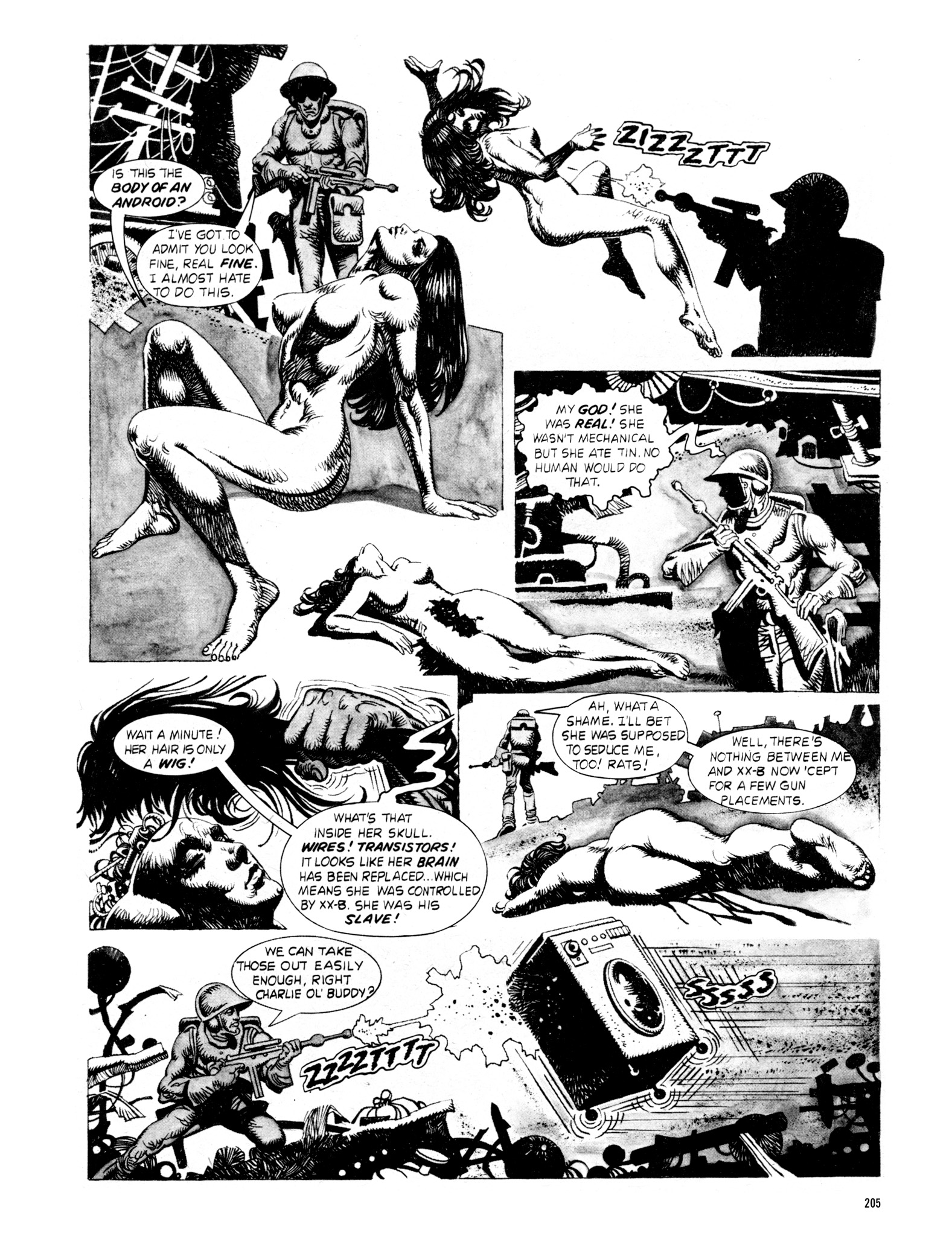 Read online Eerie Archives comic -  Issue # TPB 18 - 202