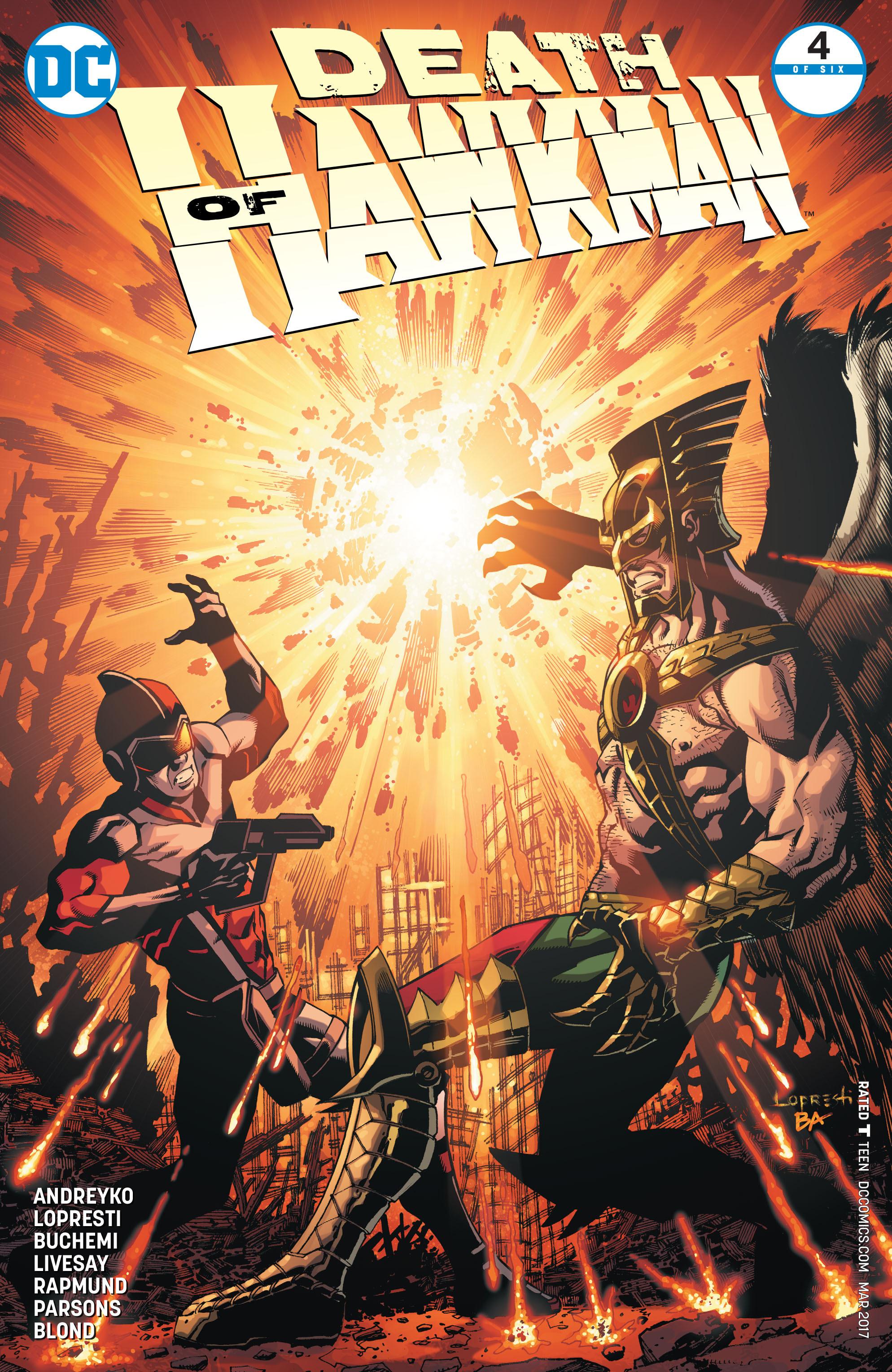 Death of Hawkman 4 Page 1