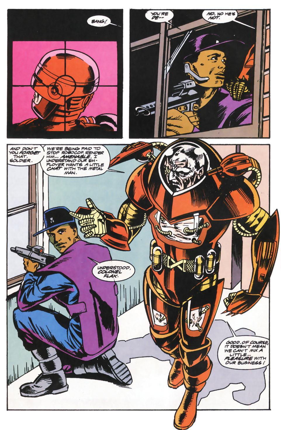 Read online Robocop (1990) comic -  Issue #14 - 6