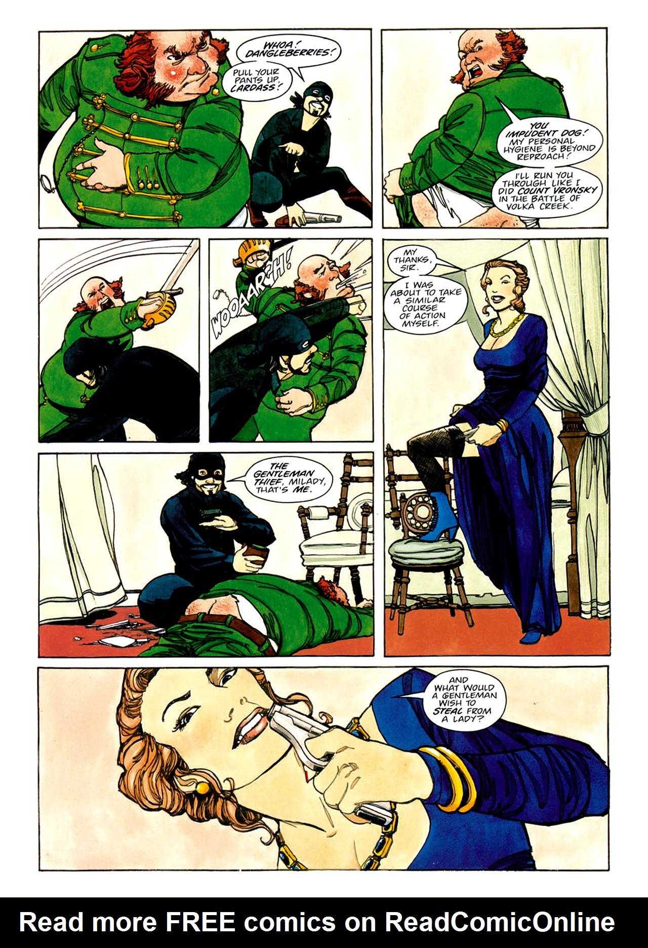 Read online Nikolai Dante comic -  Issue # TPB 1 - 107