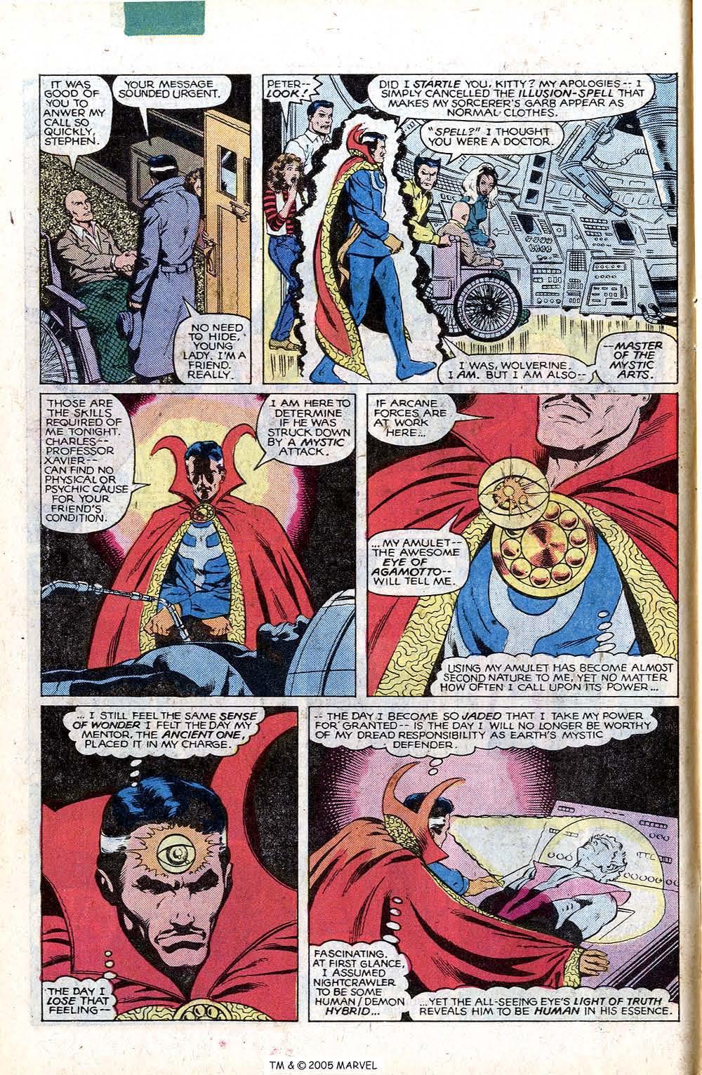Read online Uncanny X-Men (1963) comic -  Issue # _Annual 4 - 10