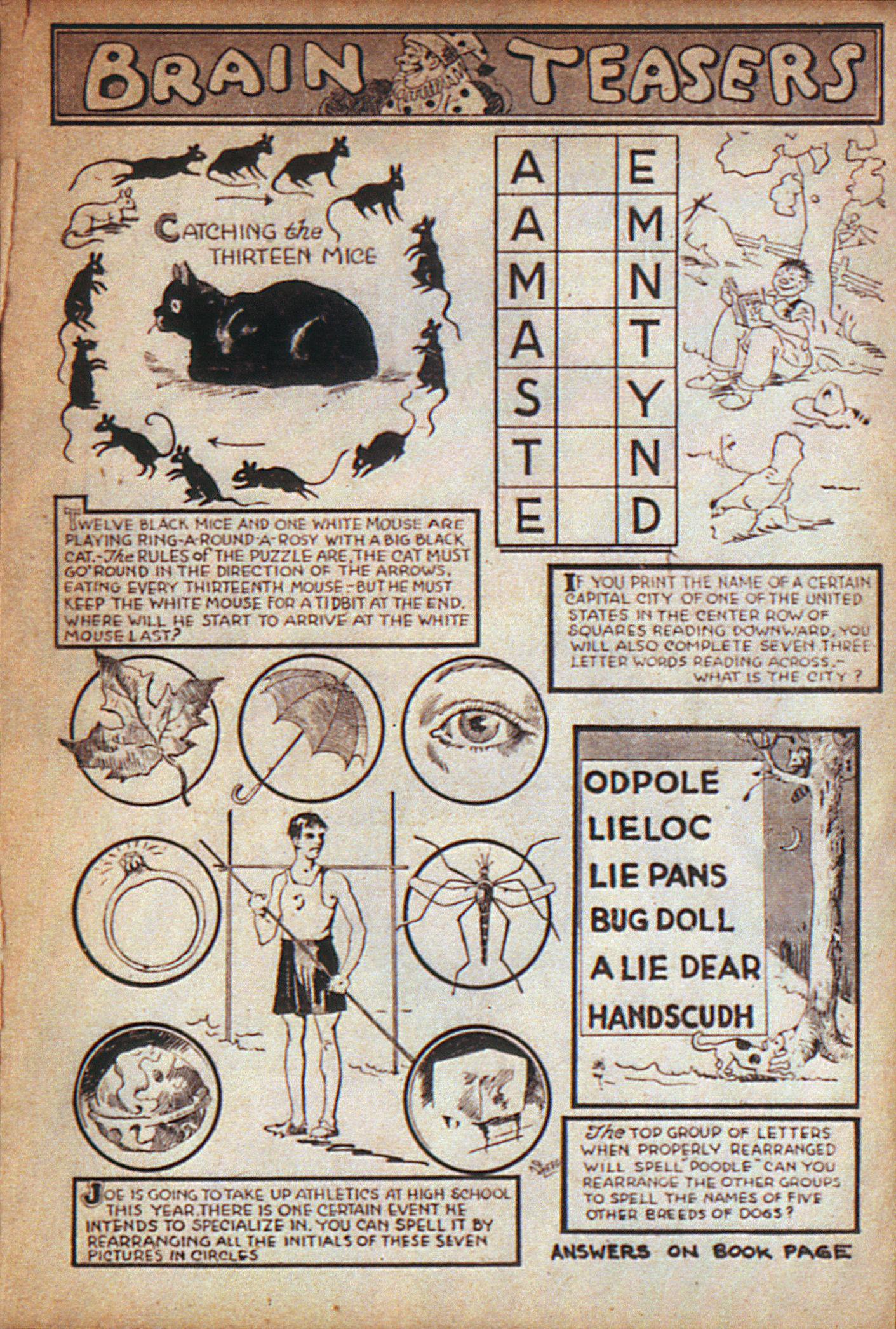 Read online Adventure Comics (1938) comic -  Issue #7 - 30