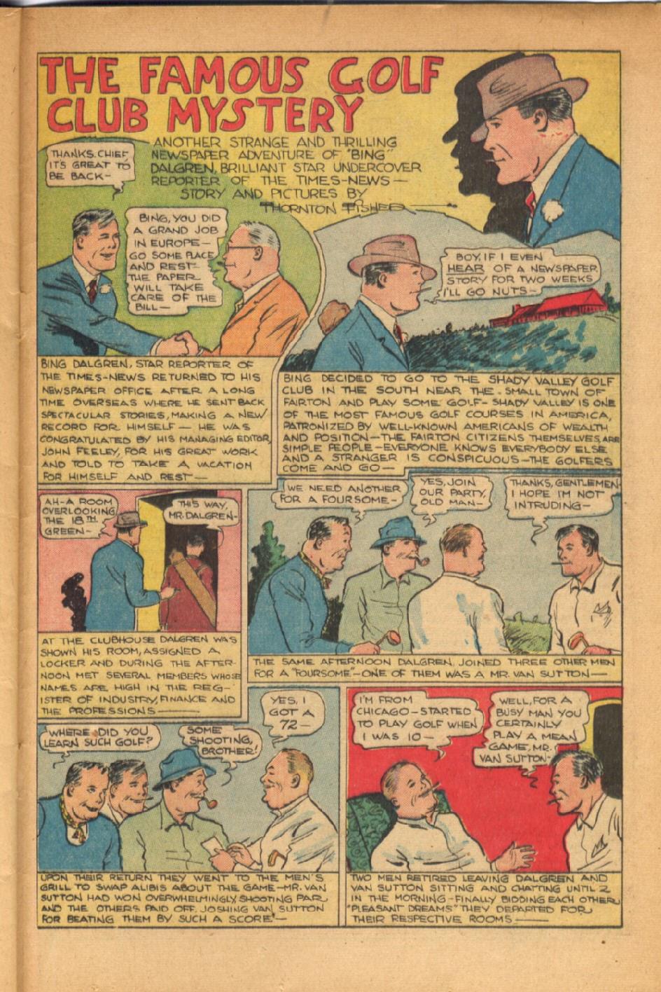 Read online Super-Magician Comics comic -  Issue #54 - 36