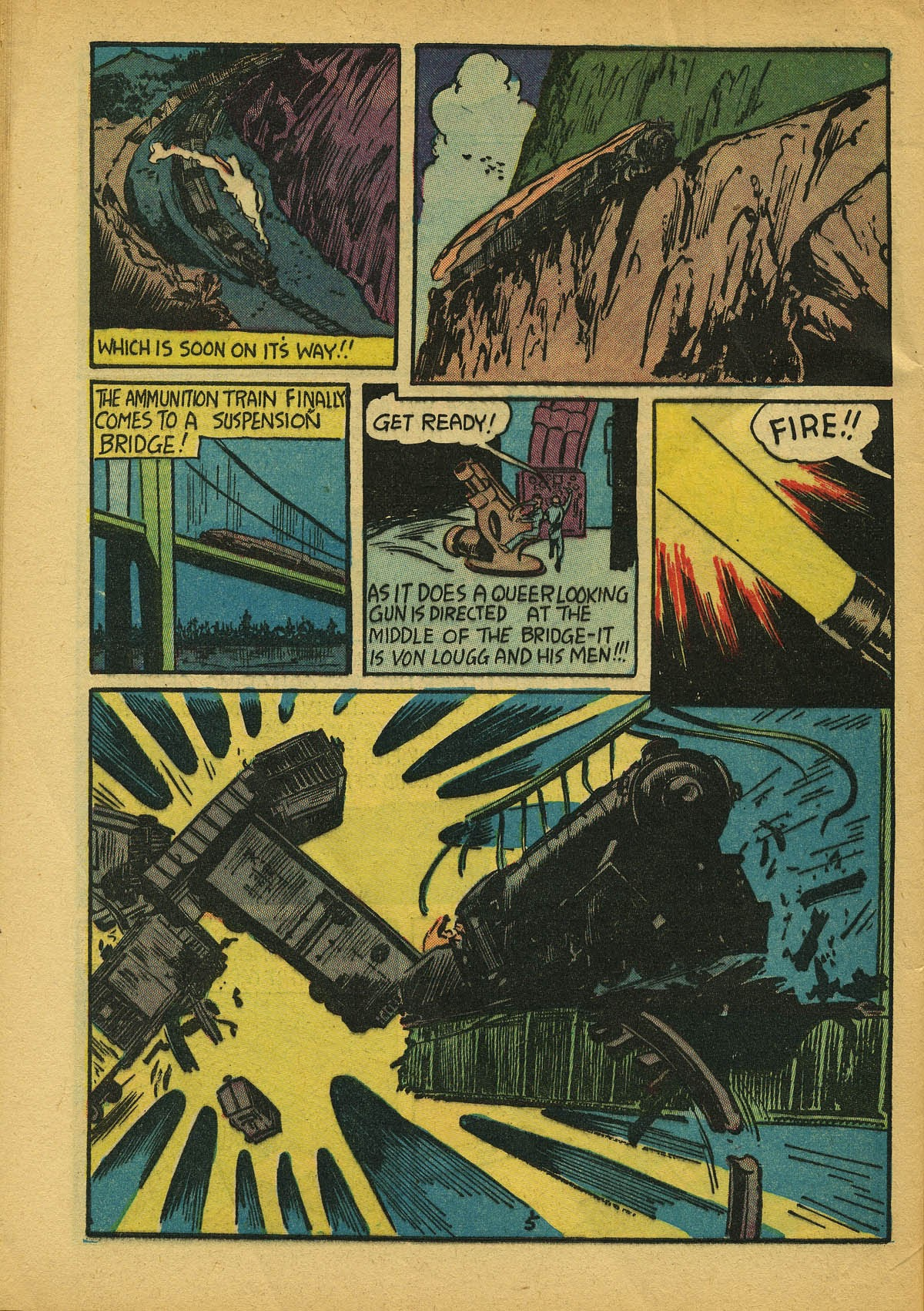 Read online Amazing Man Comics comic -  Issue #22 - 63