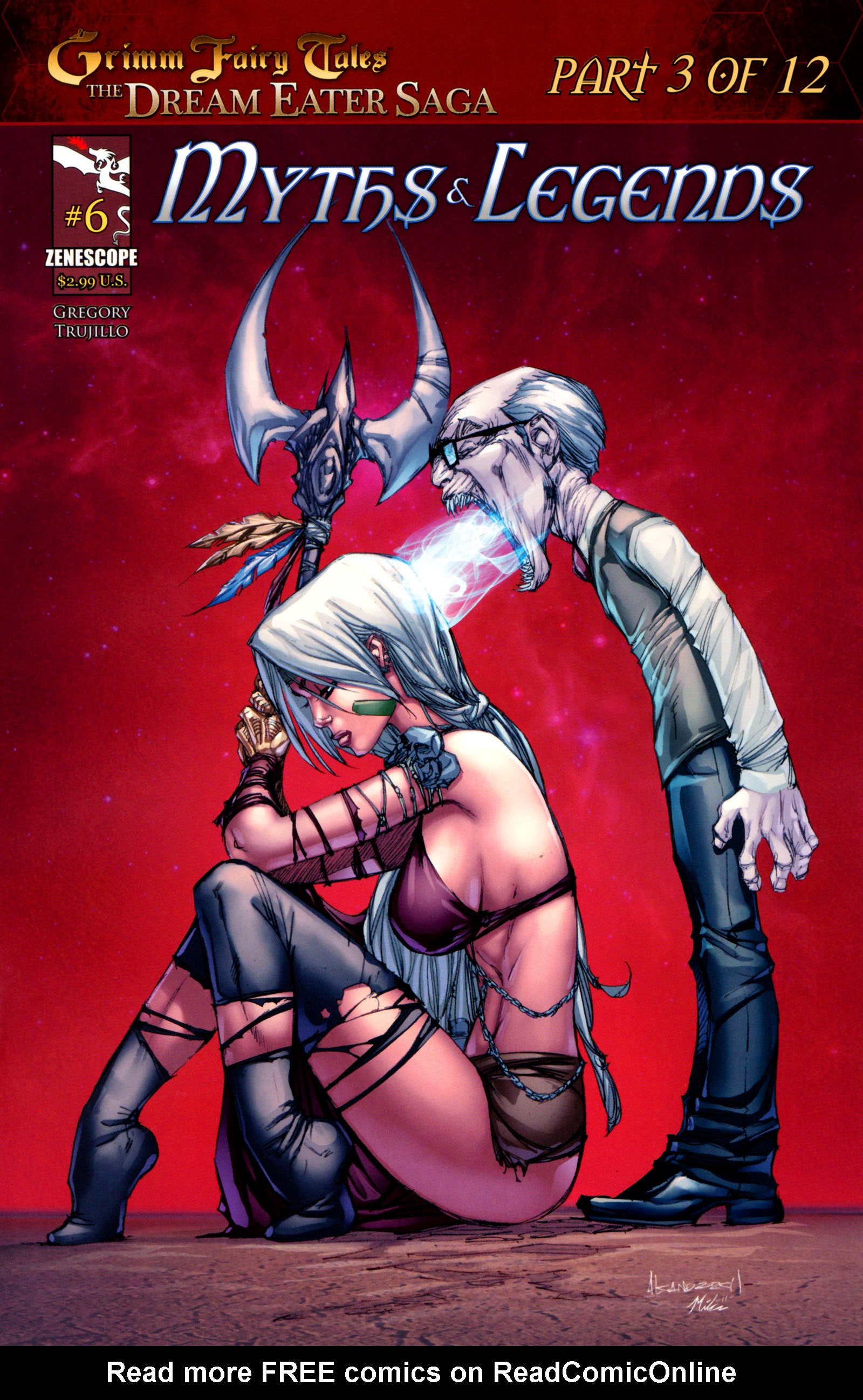 Grimm Fairy Tales: Myths & Legends 6 Page 1