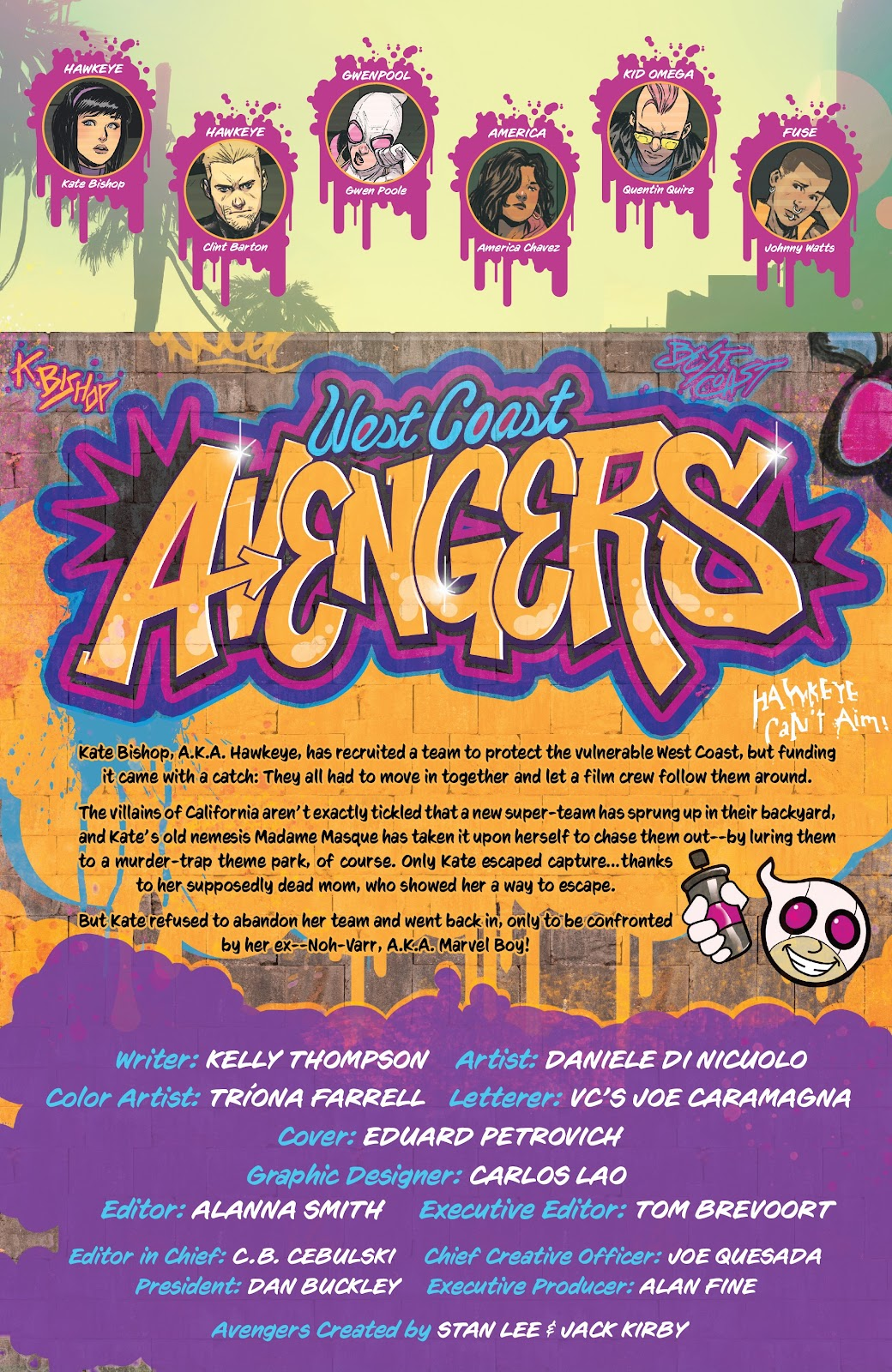 Read online West Coast Avengers (2018) comic -  Issue #7 - 2
