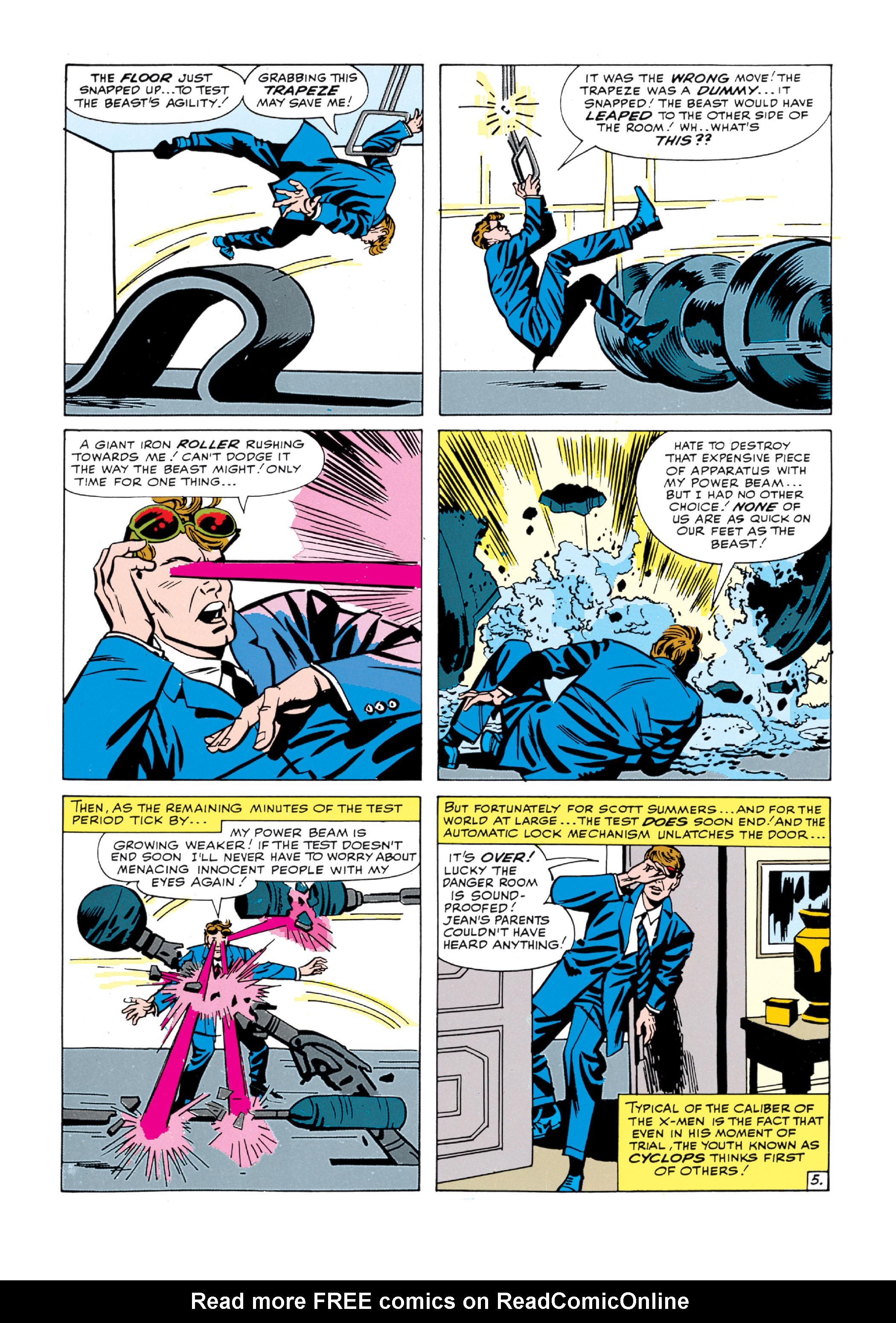 Read online Uncanny X-Men (1963) comic -  Issue #5 - 6