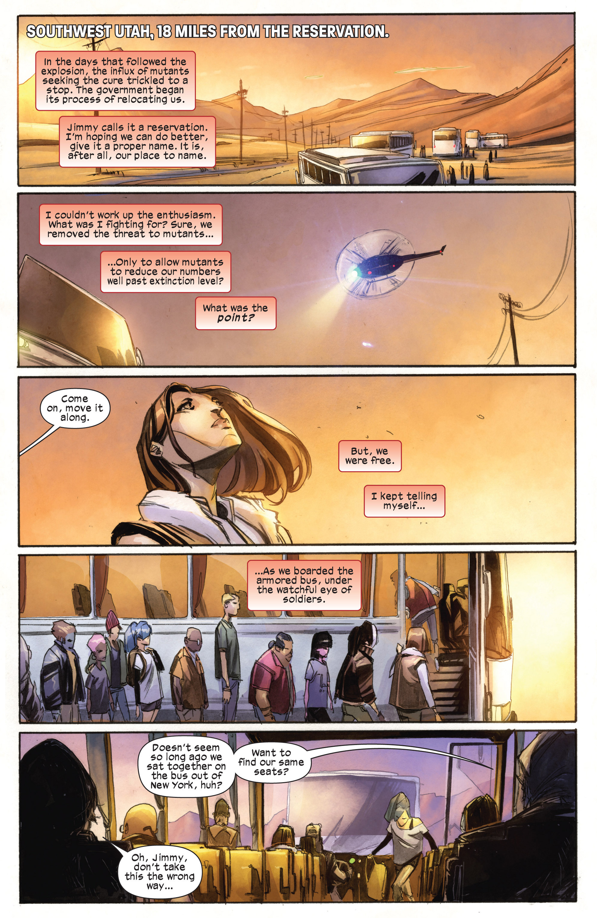 Read online Ultimate Comics X-Men comic -  Issue #18.1 - 20