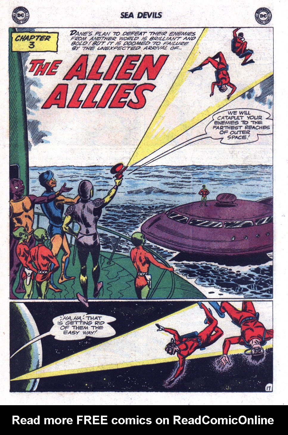 Read online Sea Devils comic -  Issue #17 - 25