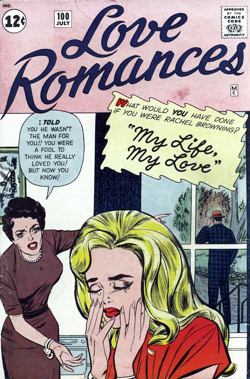Love Romances (1949) issue 100 - Page 1